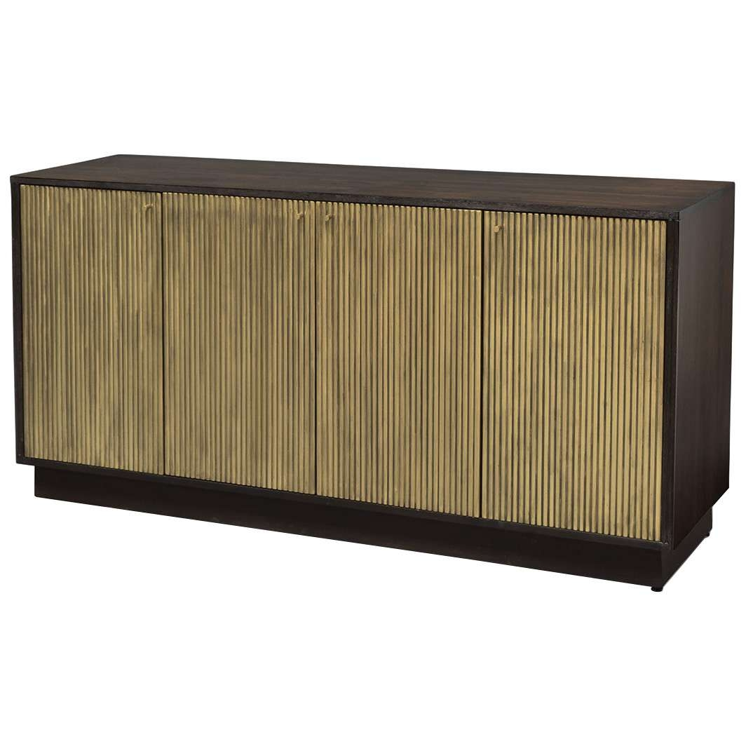 Palecek Maxwell Gold Sideboard With Gold Sideboards (View 16 of 20)