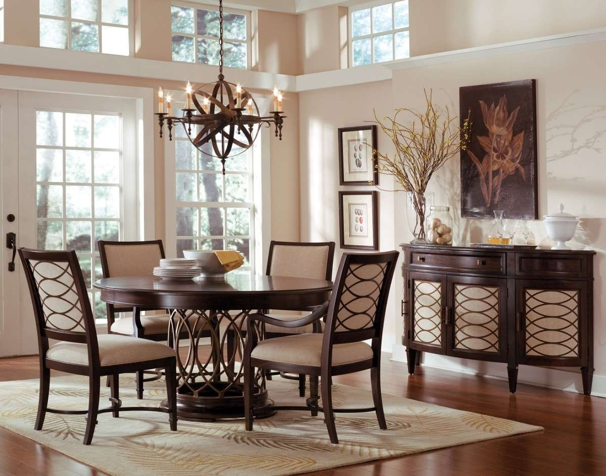 Peachy Dining Room Set Sideboard | Home Inspired 2018 For Dining Room Sets With Sideboards (View 3 of 20)