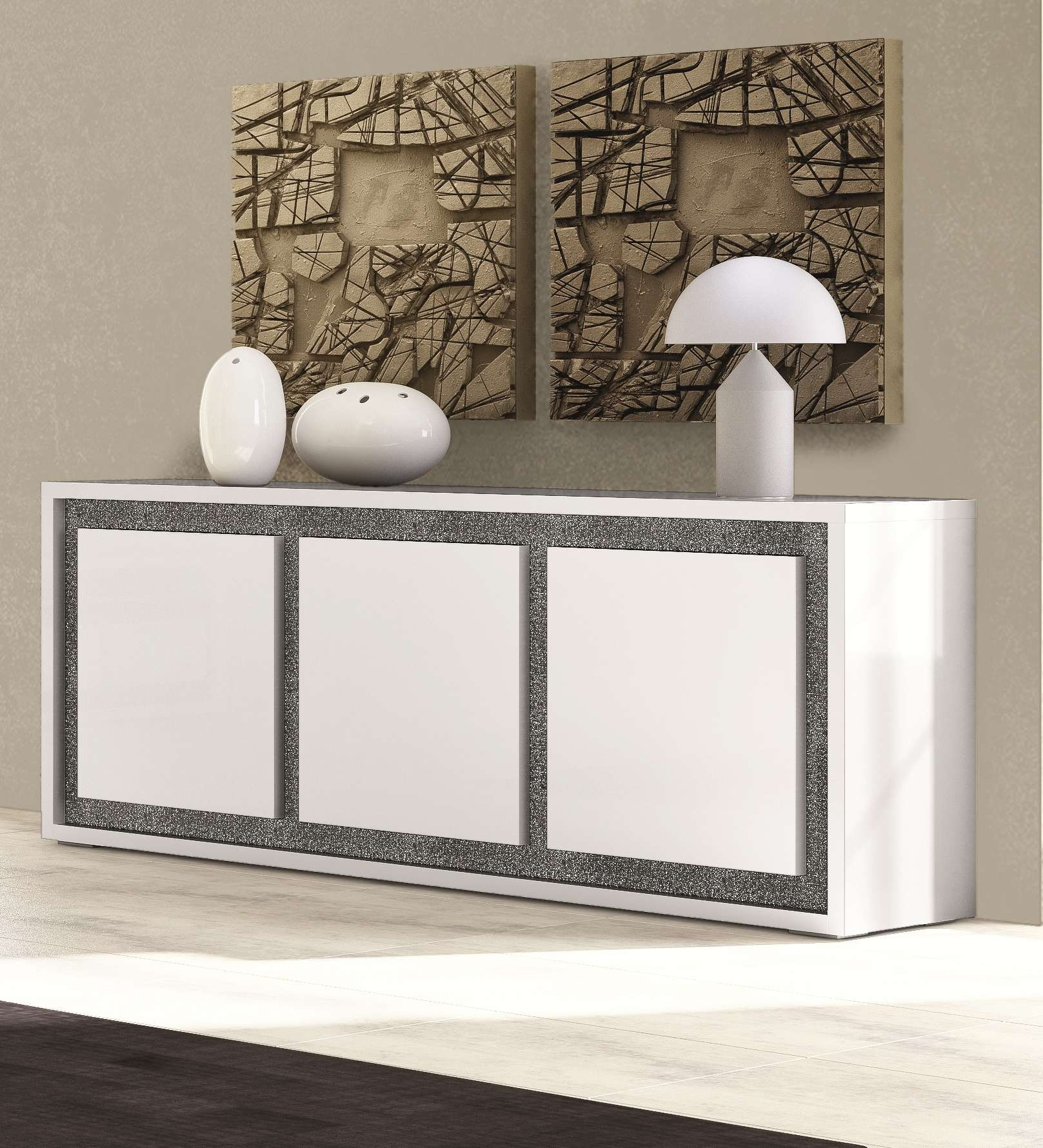 Perfecta And Elegant Sideboard White Table Lamp And Mozaik With Elegant Sideboards (View 9 of 20)