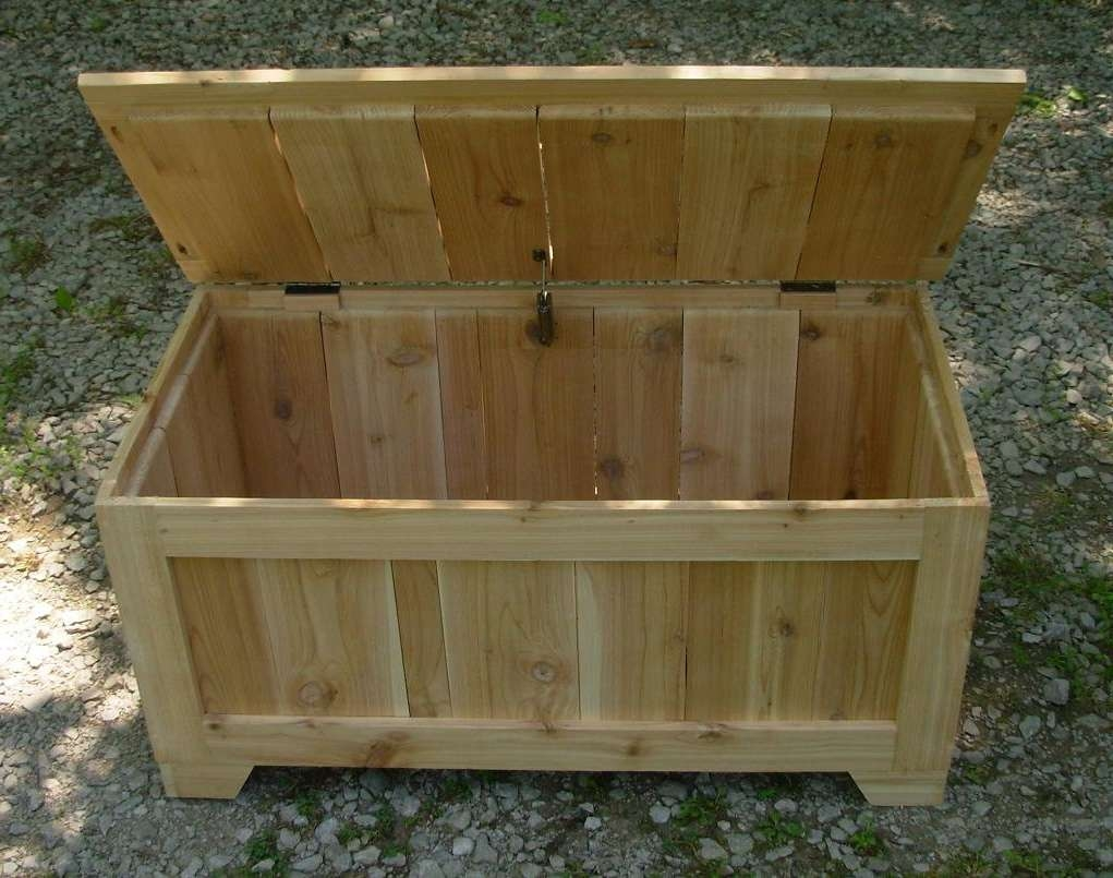 Photo : Awesome Blanket Box Coffee Table Unfinished Rustic With Regard To Most Up To Date Blanket Box Coffee Tables (View 17 of 20)