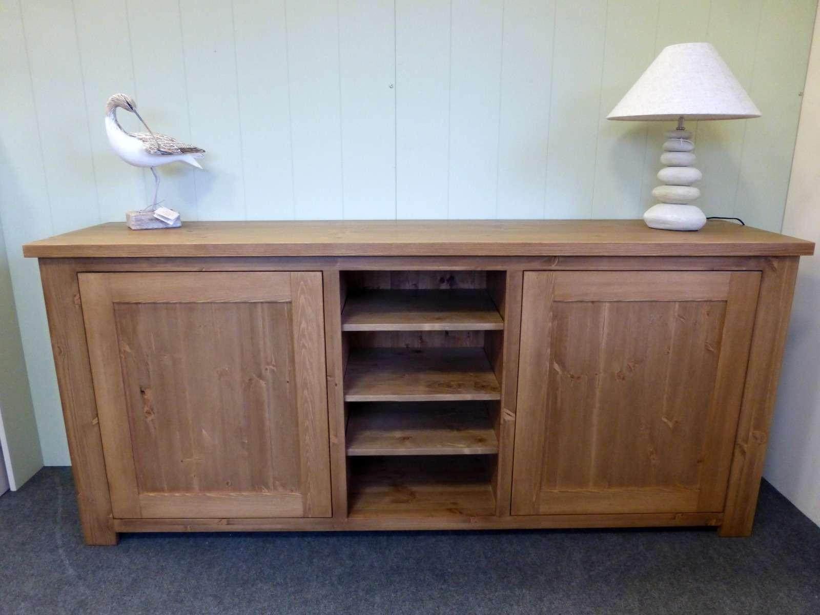 Pine Sideboard Hidden Hinges – – Pine Shop Bury In Bespoke Sideboards (View 16 of 20)