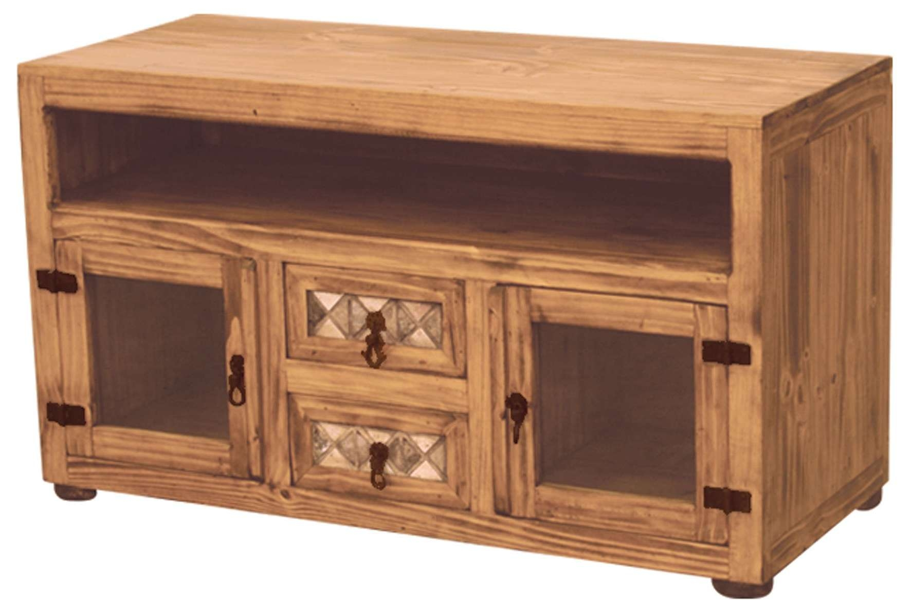 Pine Tv Standorner Stands For Flat Screenspine Plans Dark Regarding Pine Tv Cabinets (View 19 of 20)