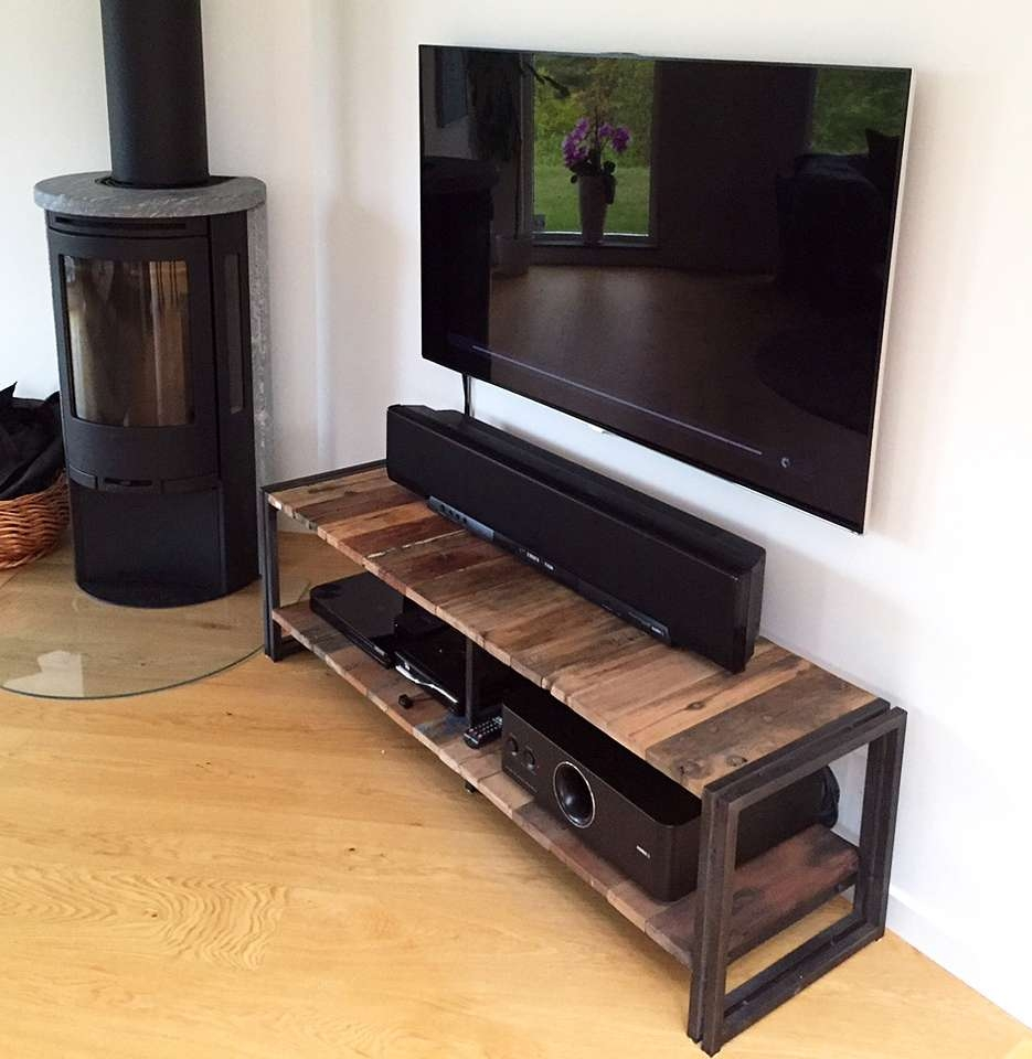 Pleasant Idea Industrial Style Tv Stand Nice Design 17 Best Ideas Regarding Industrial Tv Cabinets (View 16 of 20)