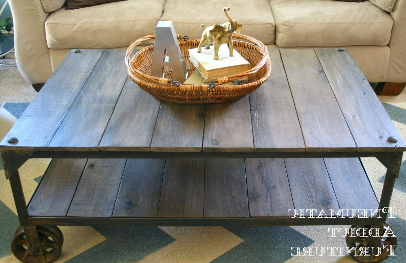 "Pneumatic Addict : World Market ""aiden"" Coffee Table Knock Off In Fashionable Aiden Coffee Tables (View 16 of 20)"