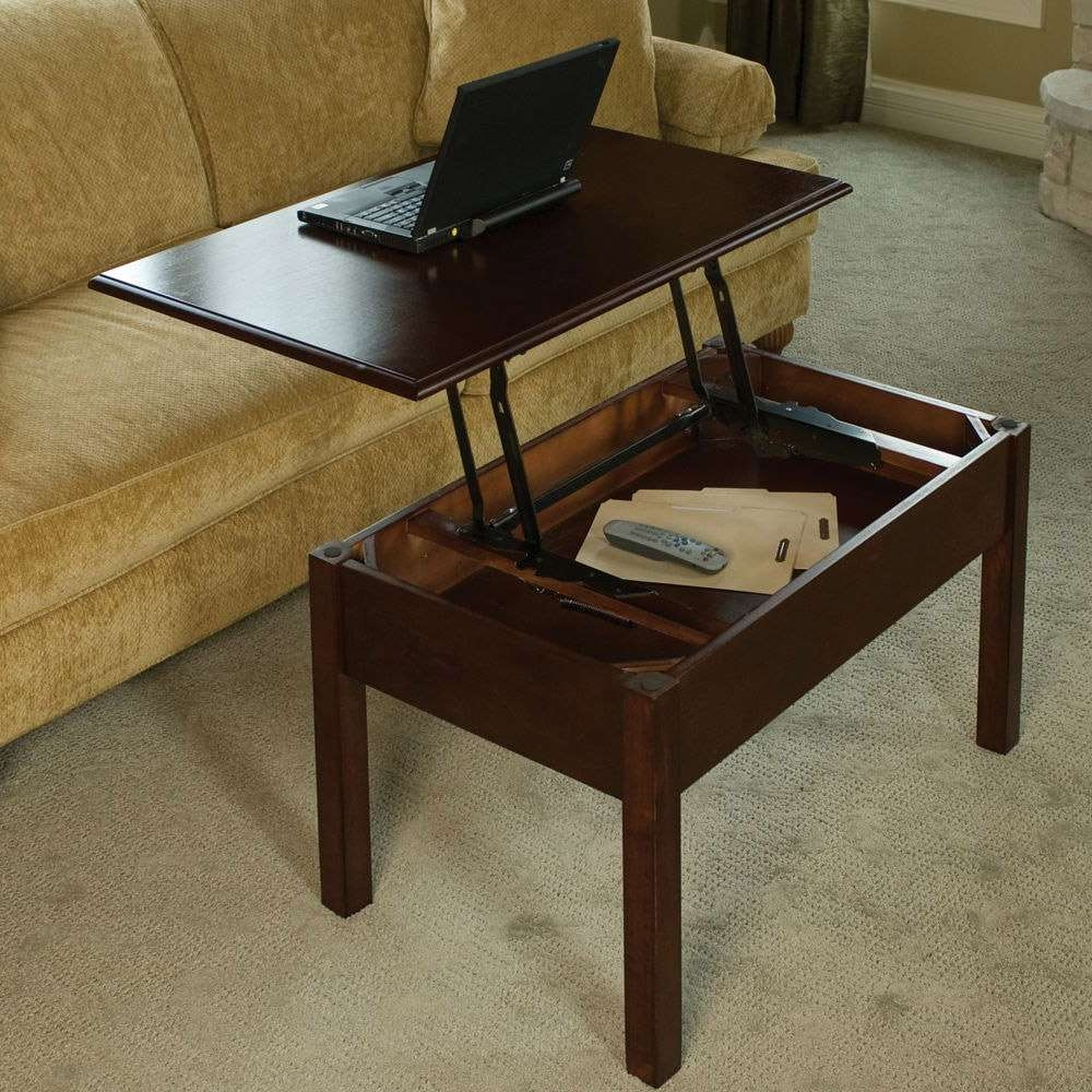 Pop Up Coffee Table – The Green Head With 2018 Lift Up Coffee Tables (View 3 of 20)