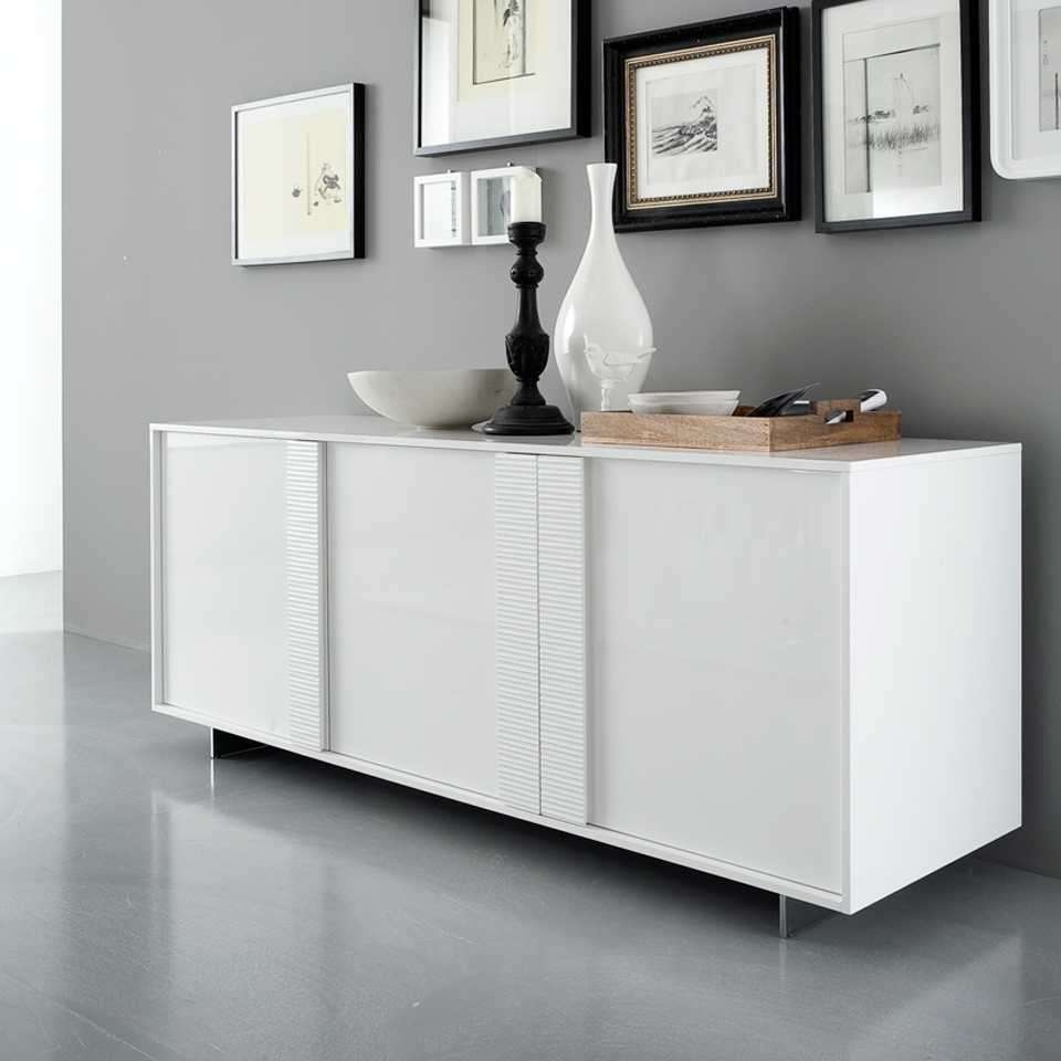 Popular 225 List Modern Buffet Tables Intended For White Sideboards Tables (View 14 of 20)