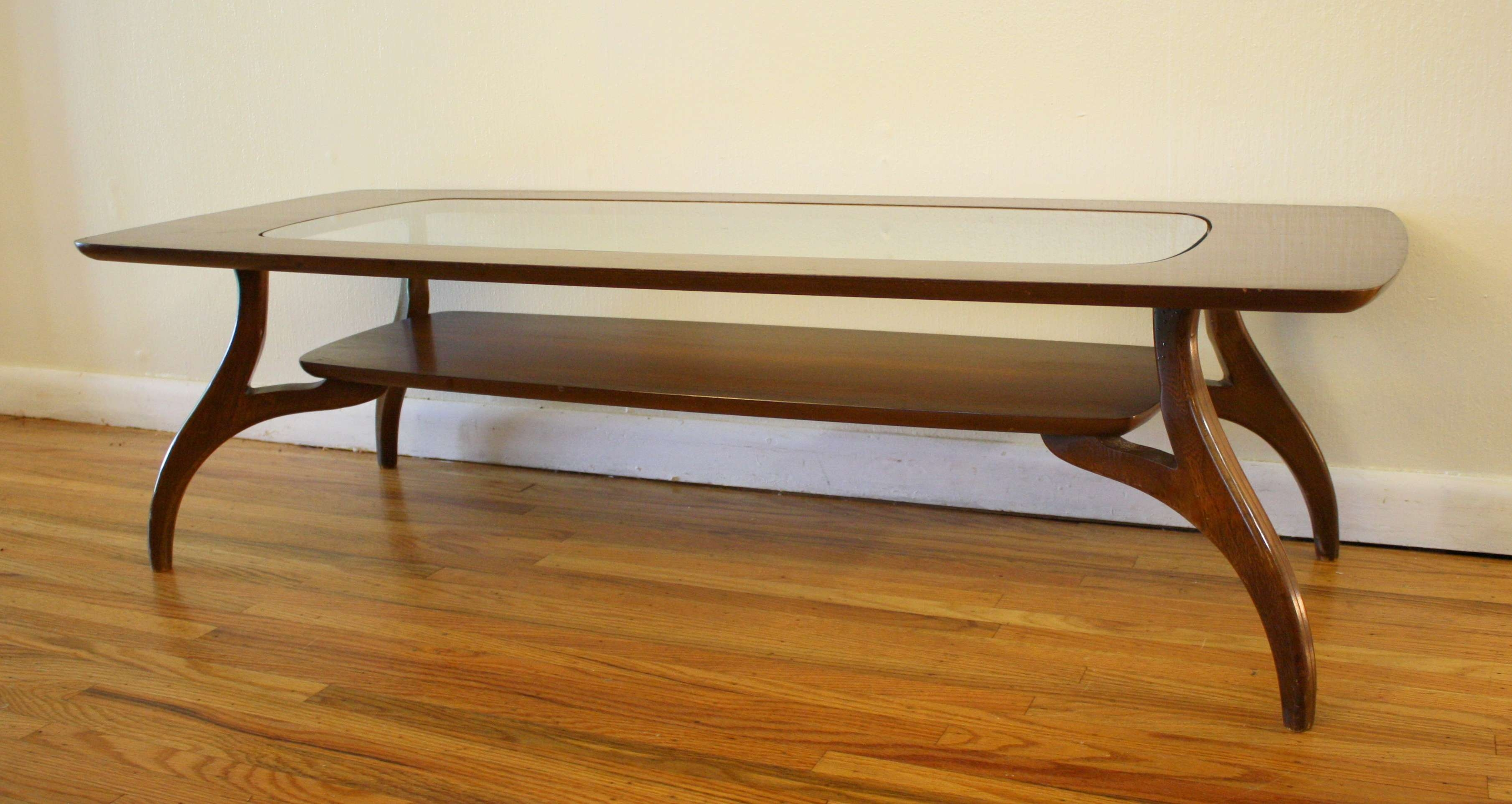 Featured Photo of Antique Glass Pottery Barn Coffee Tables