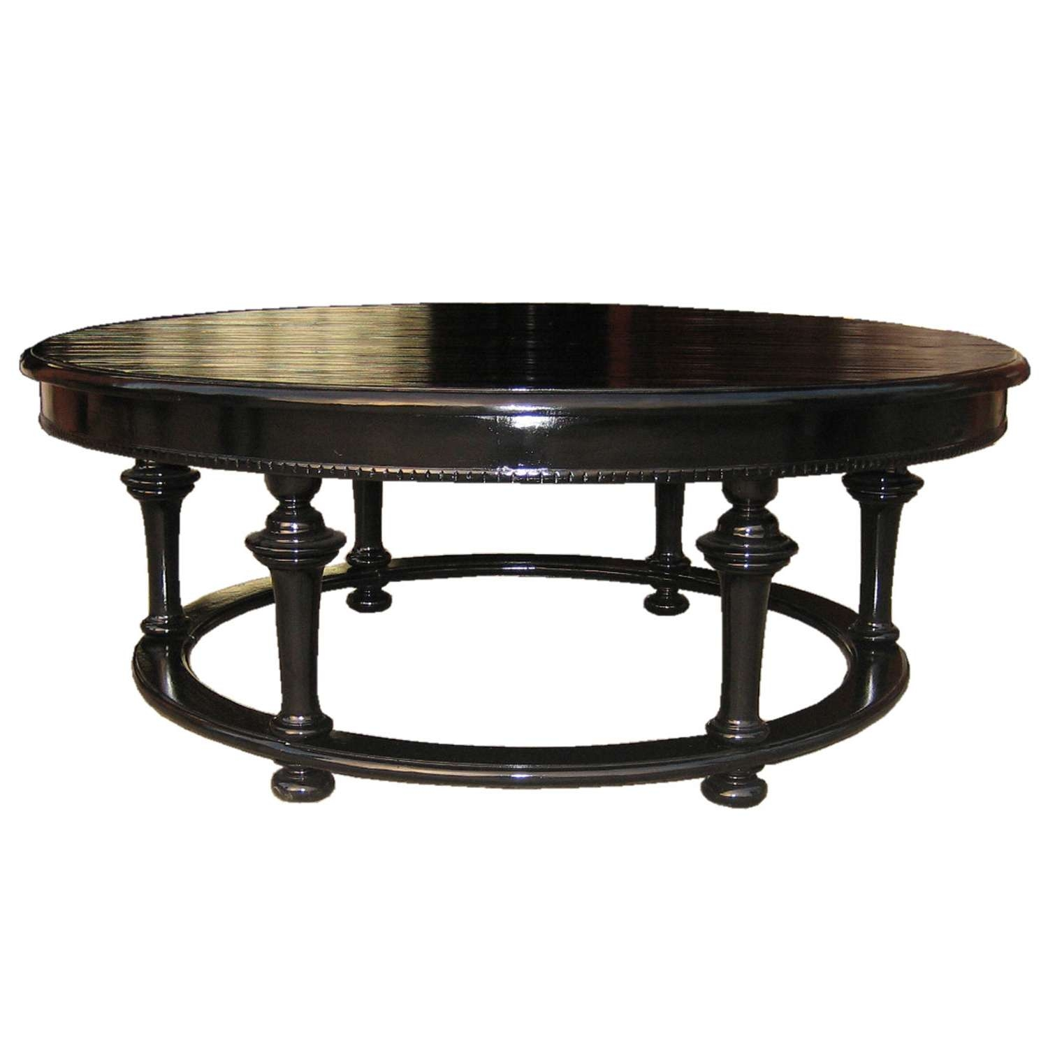 Popular Black Circle Coffee Tables In Coffee Table Buy A Handmade Reclaimed Wood Dining Table With (View 12 of 20)