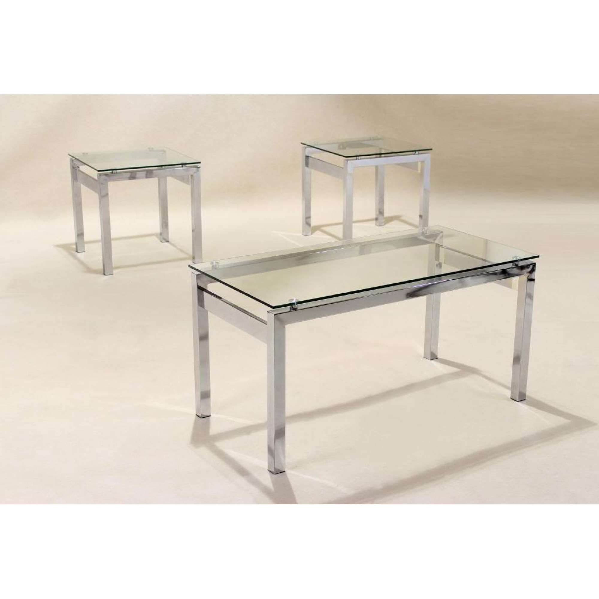 Popular Chrome And Glass Coffee Tables Throughout All You Need To Know About Glass And Chrome Coffee Tables (View 12 of 20)