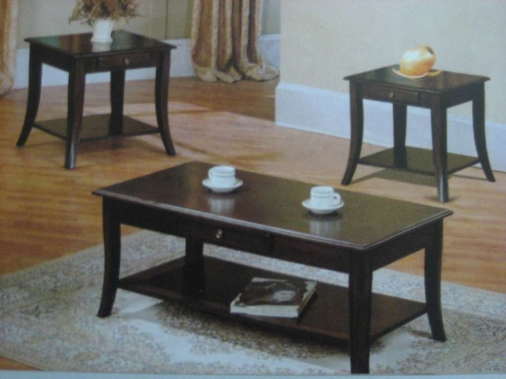 Popular Coffee Tables And Side Table Sets With Furniture: Coffee Tables And End Tables Unique Coffee Table Sets (View 9 of 20)