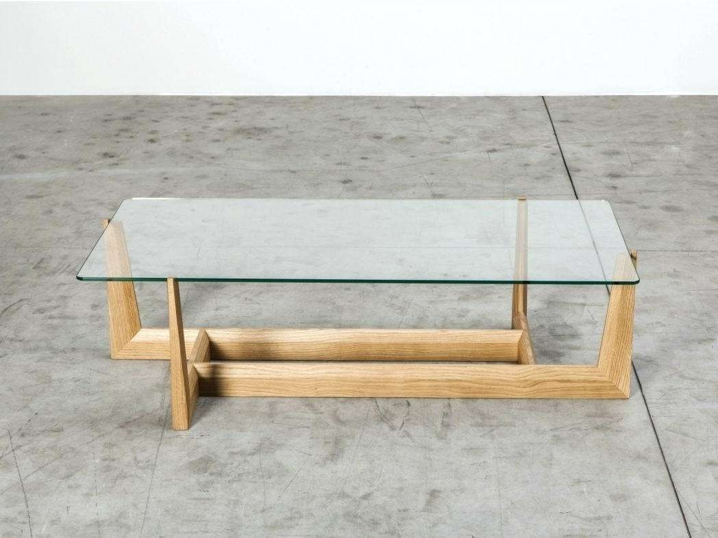 Popular Dark Wood Coffee Tables With Glass Top Throughout Rectangle Coffee Tables White Table Black And Dark Wood Side With (View 12 of 23)