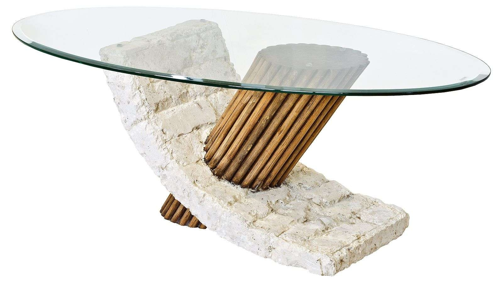 Popular Glass And Stone Coffee Table For Glass Coffee Tables Contemporary – Pros And Cons Of Glass Coffee (View 14 of 20)