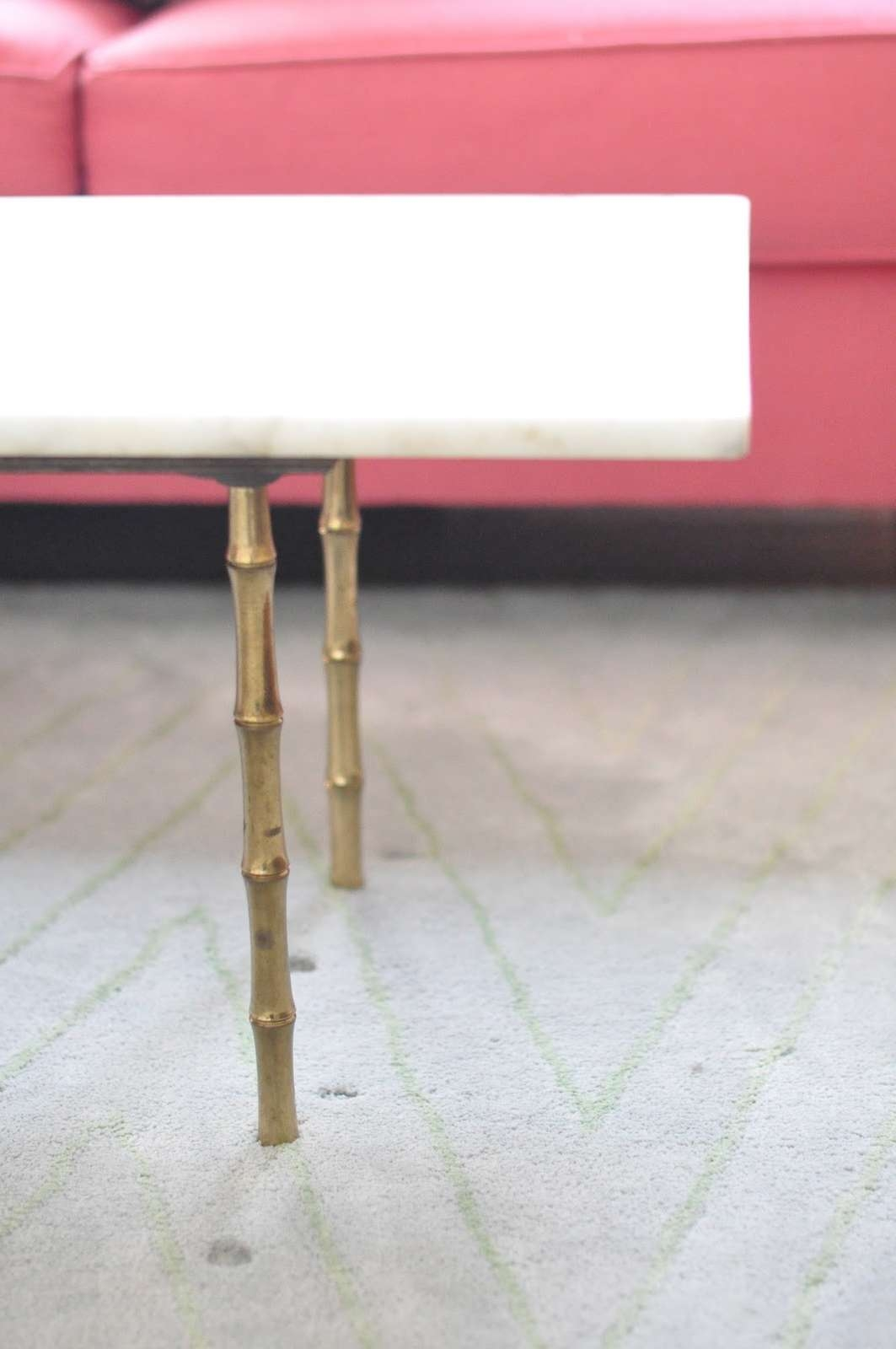 Popular Gold Bamboo Coffee Tables In Caitlin Wilson (View 2 of 20)
