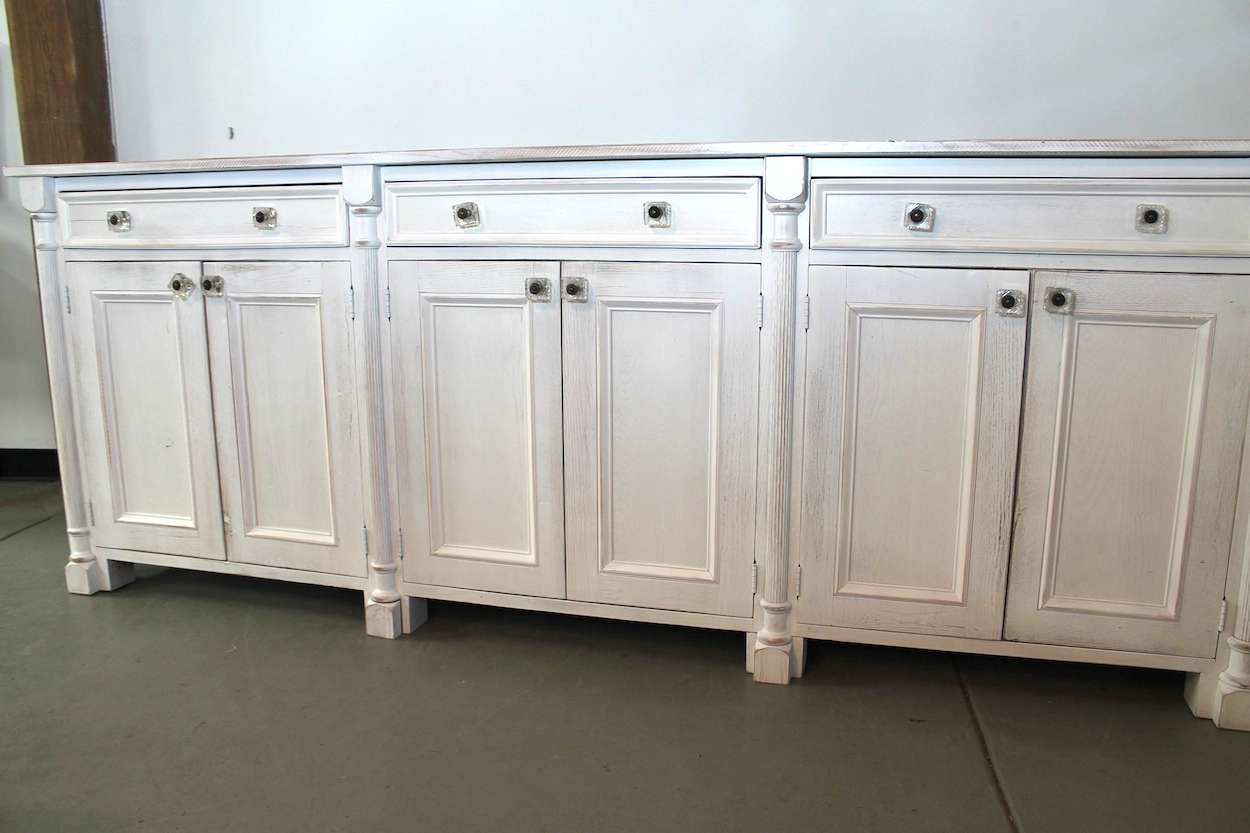 White Kitchen Buffet Hutch