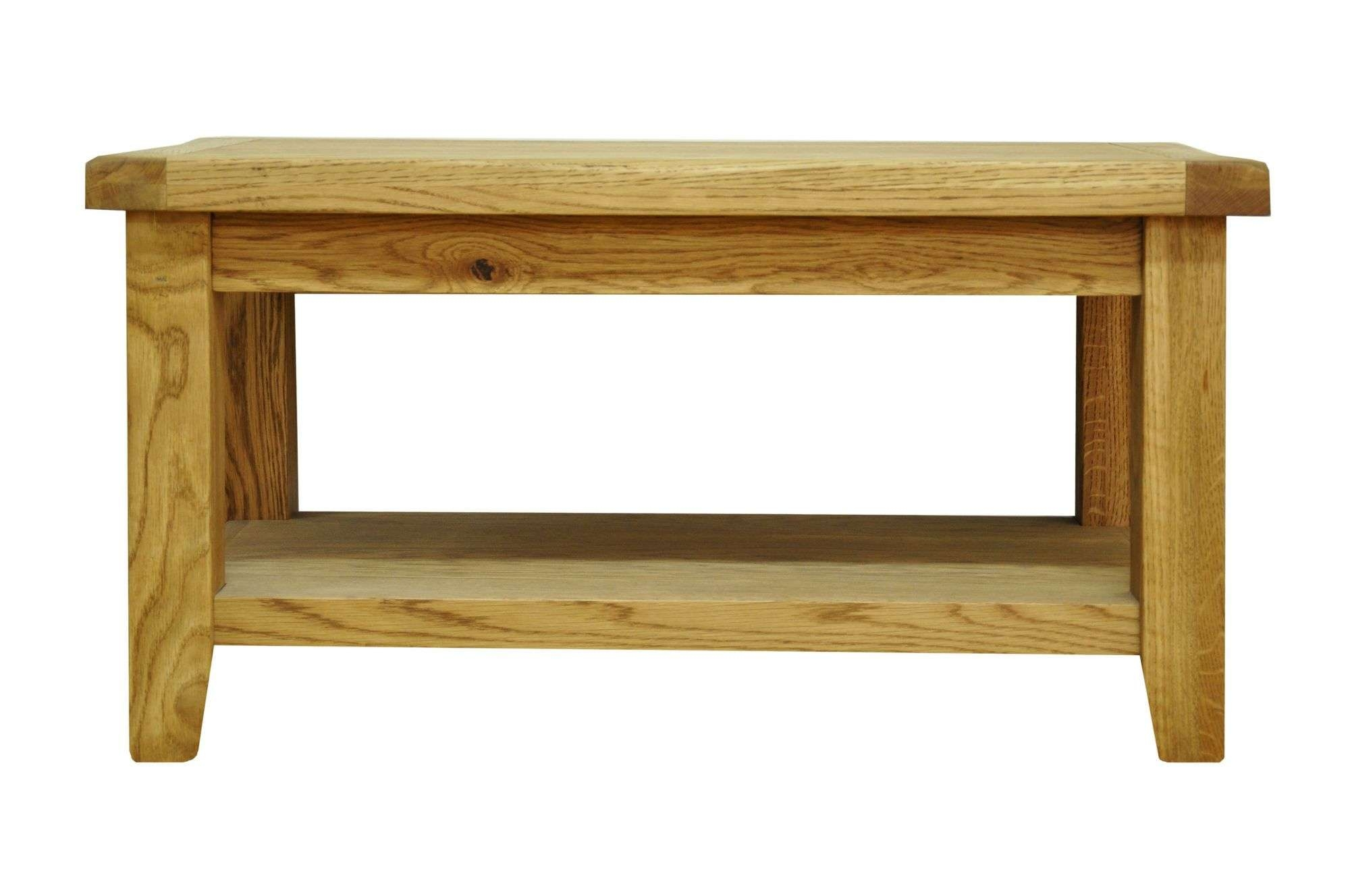 Popular Large Oak Coffee Tables Within Coffee Table : Magnificent Solid Oak Coffee Table Reclaimed Wood (View 10 of 20)