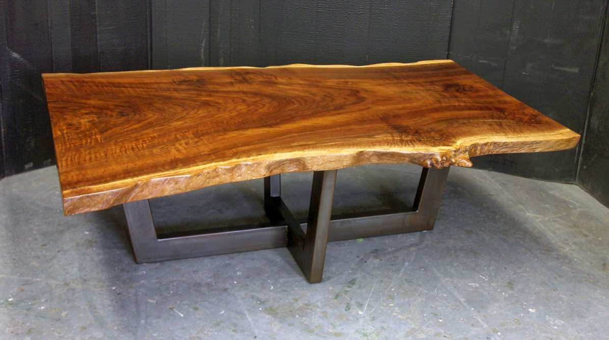 Popular Live Edge Coffee Tables Within Dorset Custom Furniture – A Woodworkers Photo Journal: A Live Edge (View 16 of 20)