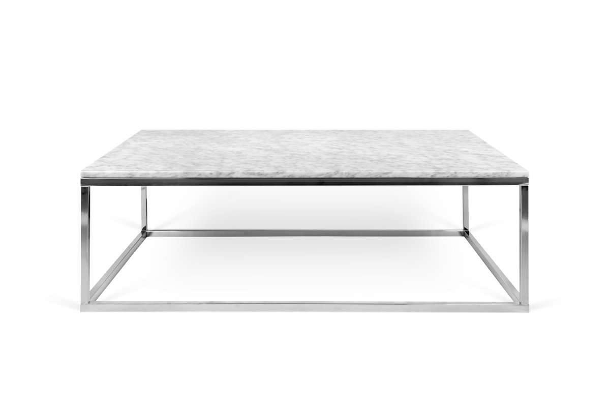 Popular Marble Coffee Tables With Regard To Prairie Marble Coffee Table & Reviews (View 3 of 20)