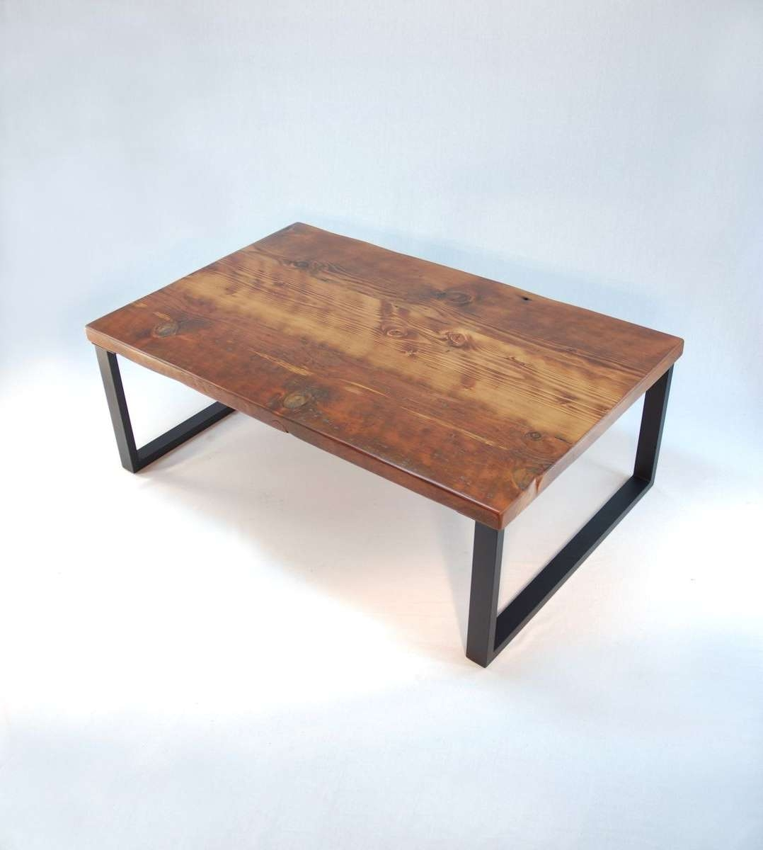 Popular Modern Coffee Tables Regarding Handmade Redmond Rustic Modern Coffee Tablejonathan January (View 14 of 20)
