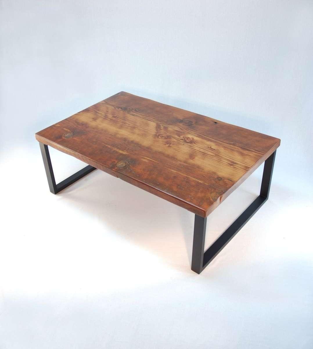 Popular Modern Coffee Tables Regarding Handmade Redmond Rustic Modern Coffee Tablejonathan January (View 20 of 20)