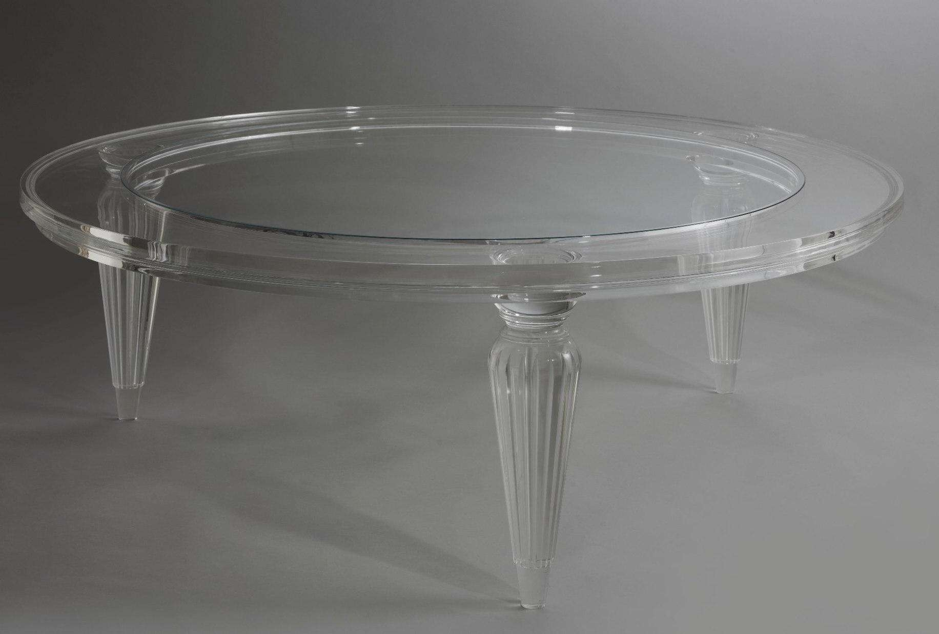 Popular Perspex Coffee Table Throughout Coffee Table : Leather Sofas For Sale Metal Storage Shelves Lucite (View 19 of 20)