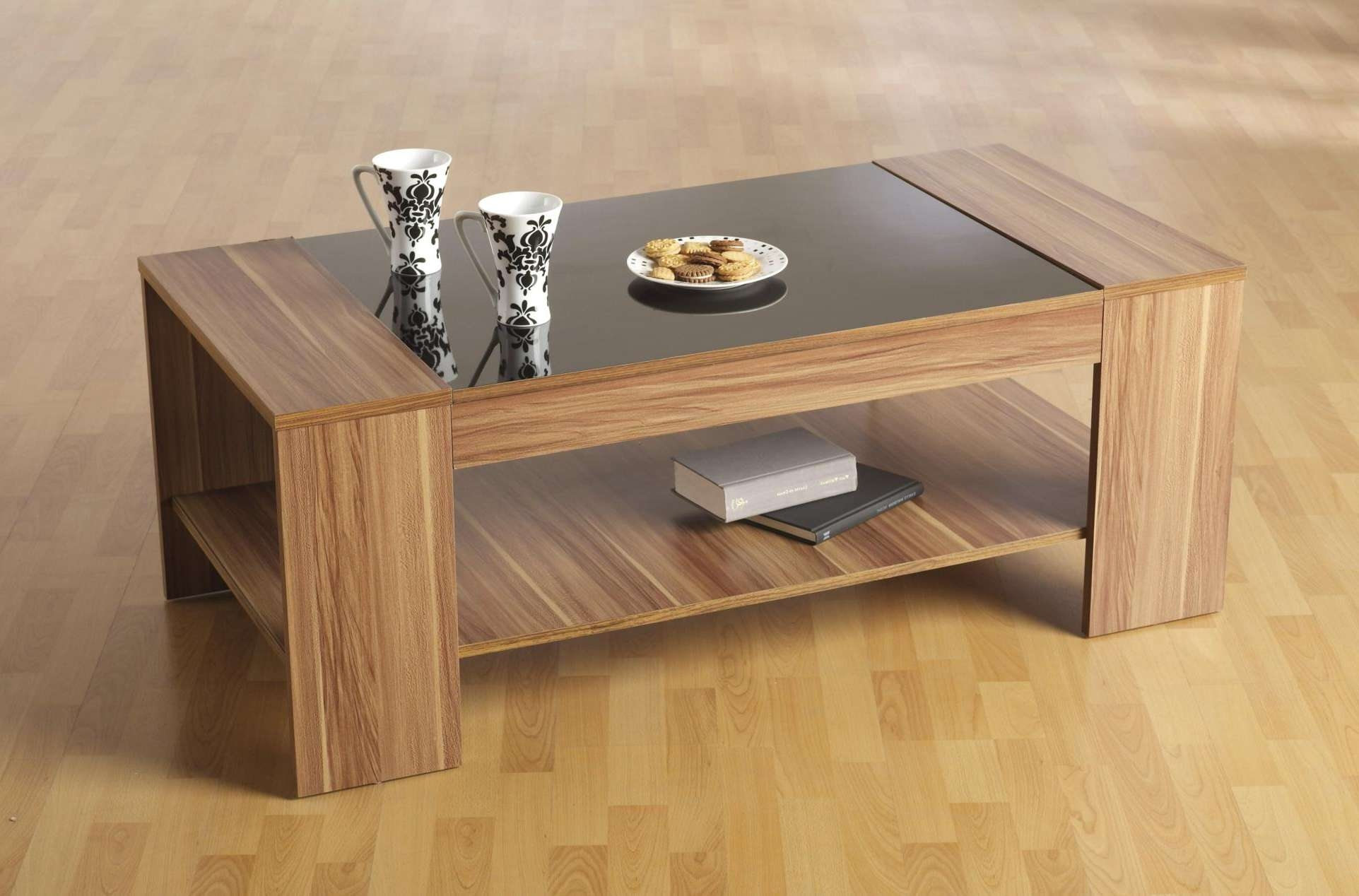 Popular Small Wood Coffee Tables Pertaining To Coffee Table : Magnificent Glass Cocktail Tables Cream Coffee (View 16 of 20)
