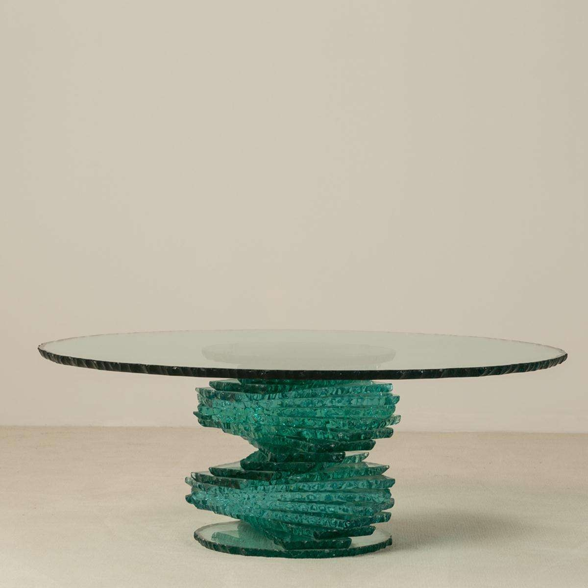 Popular Spiral Glass Coffee Table With Regard To A Late 20th Century Spiral Pedestal Based Glass Coffee Table (View 3 of 20)