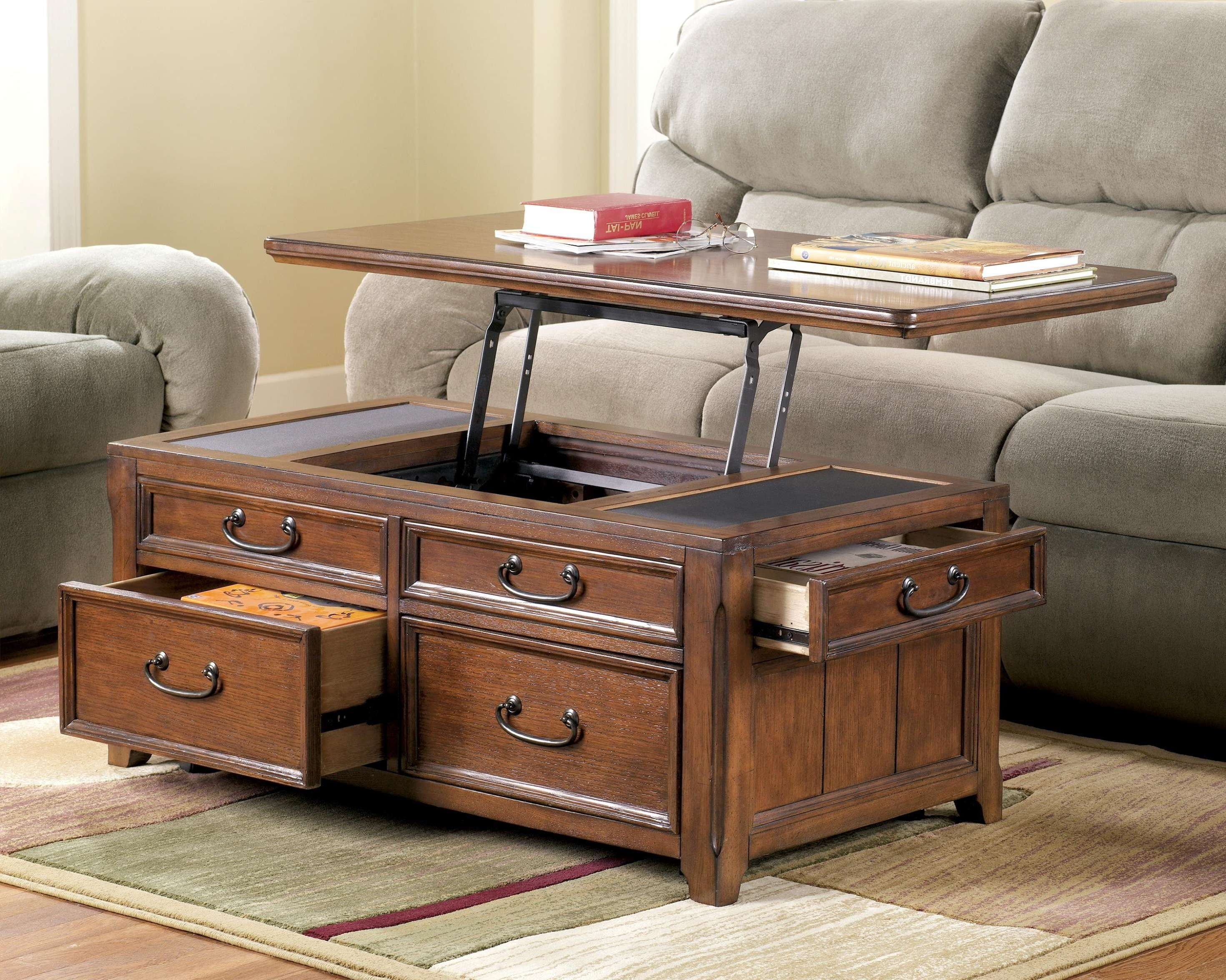 Popular Storage Trunk Coffee Tables Regarding Coffee Table: Mesmerizing Trunk Coffee Table Decorating Ideas (View 12 of 20)