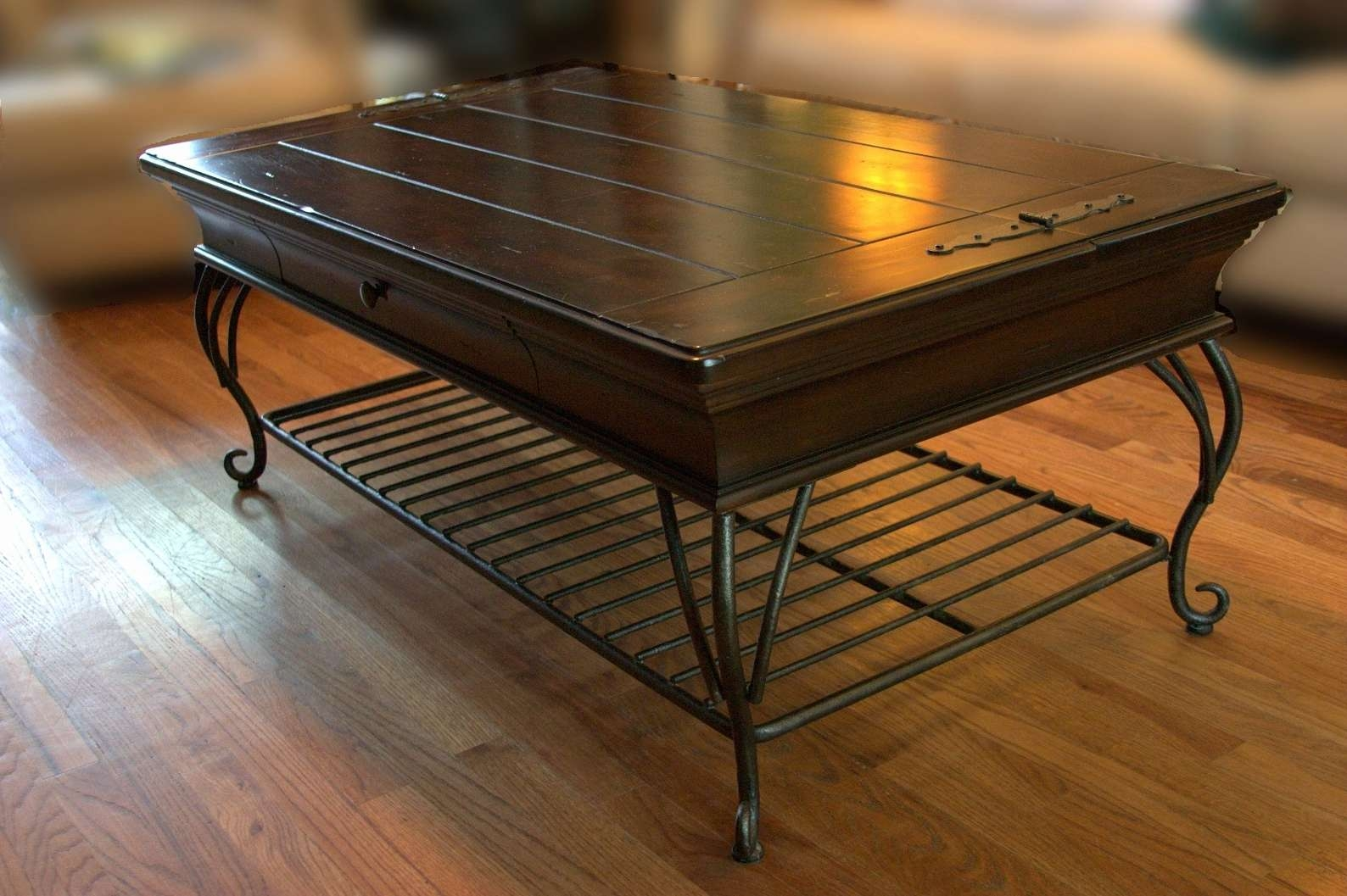 Popular Wrought Iron Coffee Tables In 50 Lovely Pics Of Wrought Iron Coffee Table Legs – Fire Pit (View 11 of 20)