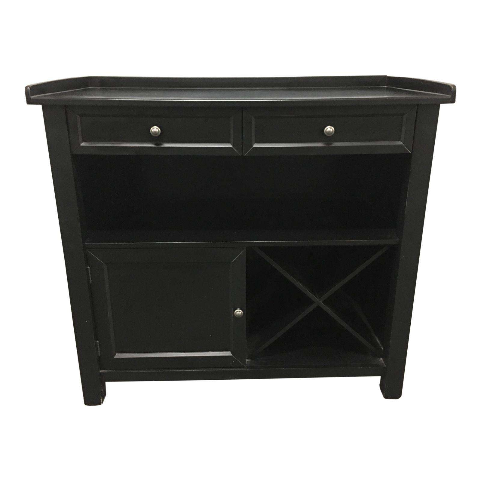Pottery Barn Black Sideboard Buffet – Design Plus Gallery For Pottery Barn Sideboards (View 18 of 20)