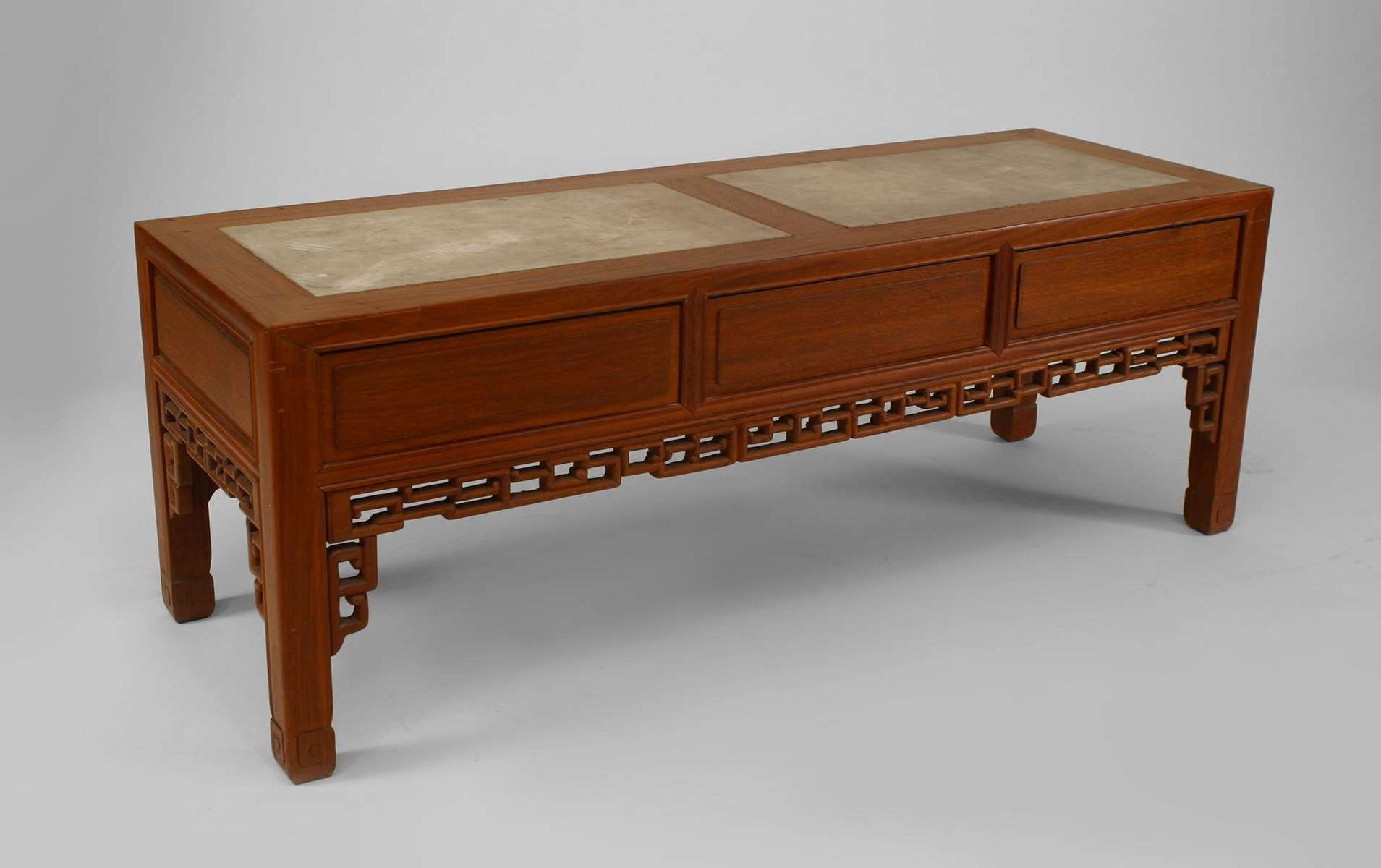 Preferred Chinese Coffee Tables Within Coffee Table, Rustic Asian Chinese Style Large Carved Teak Wood (View 19 of 20)