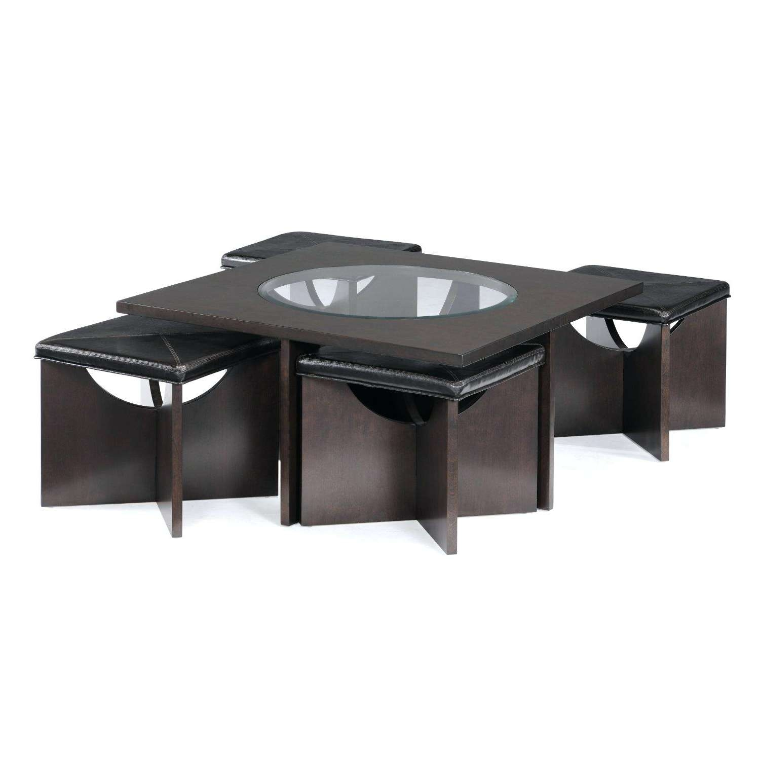 Preferred Coffee Tables With Nesting Stools Pertaining To Coffee Tables : Coffee Table With Stools Underneath Asian Oval Six (View 17 of 20)
