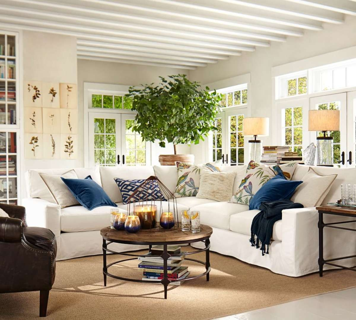 Preferred Griffin Coffee Tables In Coffee Table Pottery Barn Round Coffee Table Starrkingschool Used (View 18 of 20)