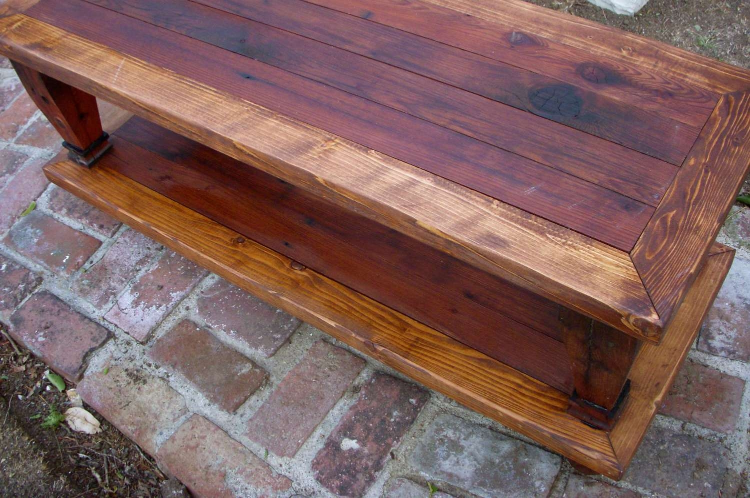 Preferred Handmade Wooden Coffee Tables Pertaining To Wood Coffee Table Handmade Furniture Living Room Shabby (View 19 of 20)