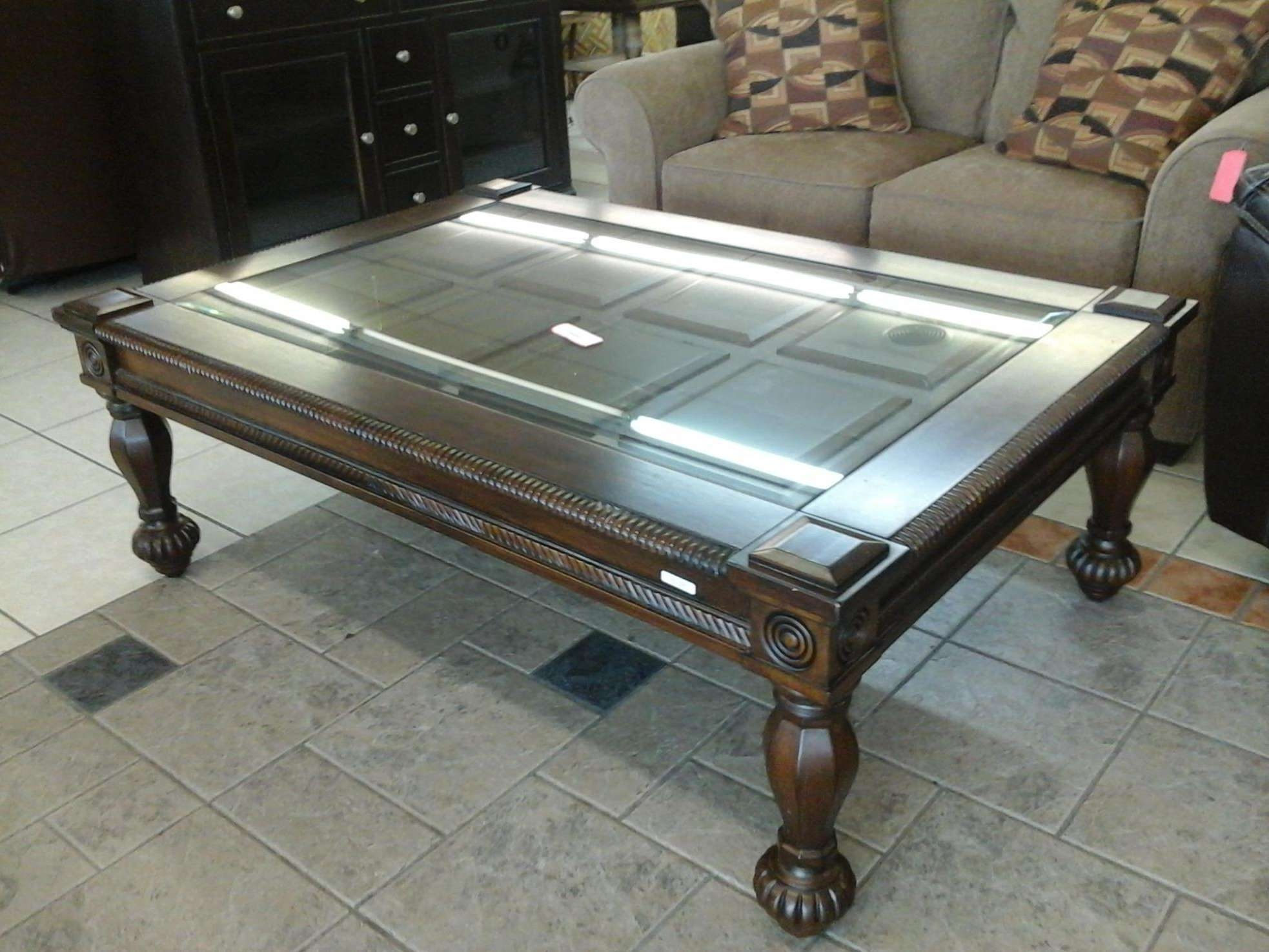 Preferred Huge Coffee Tables Regarding Coffee Tables : Alaterre Rustic Square Coffee Table Pomona Large (View 8 of 20)
