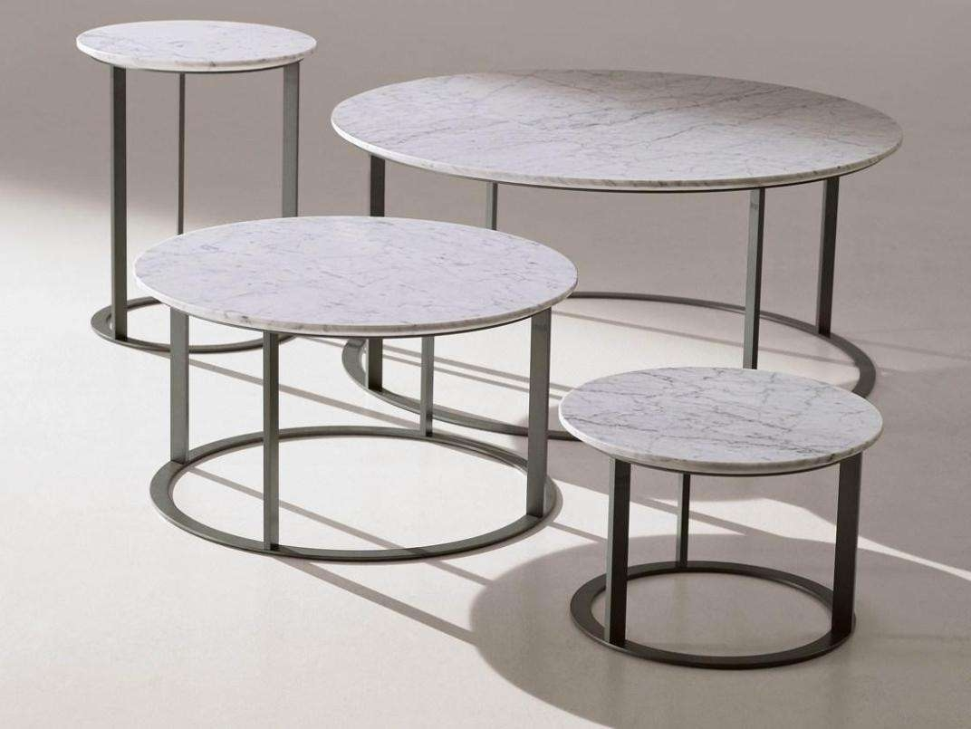 Preferred Marble Round Coffee Tables Within Brass And Marble Round Coffee Table : Bed And Shower – Luxury (View 8 of 20)