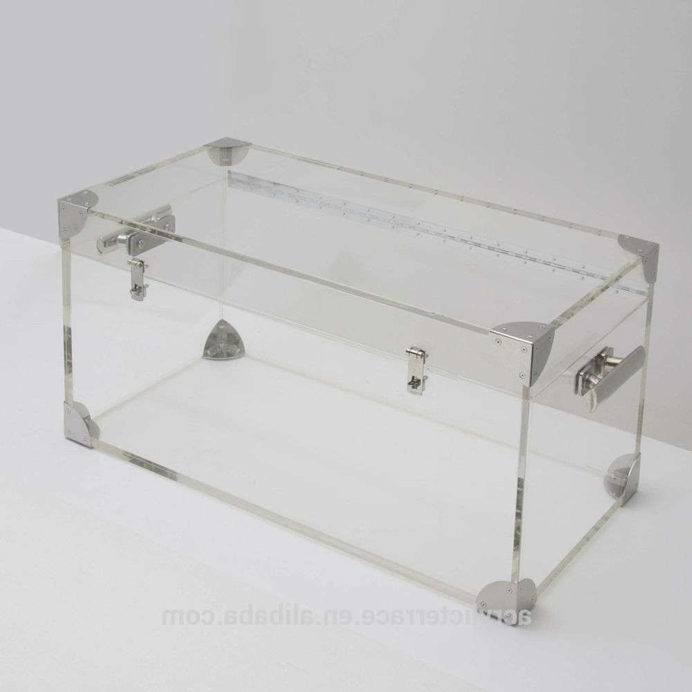 Preferred Perspex Coffee Table Pertaining To Decoration : Acrylic Coffee Table Living Room Modern Acrylic (View 16 of 20)