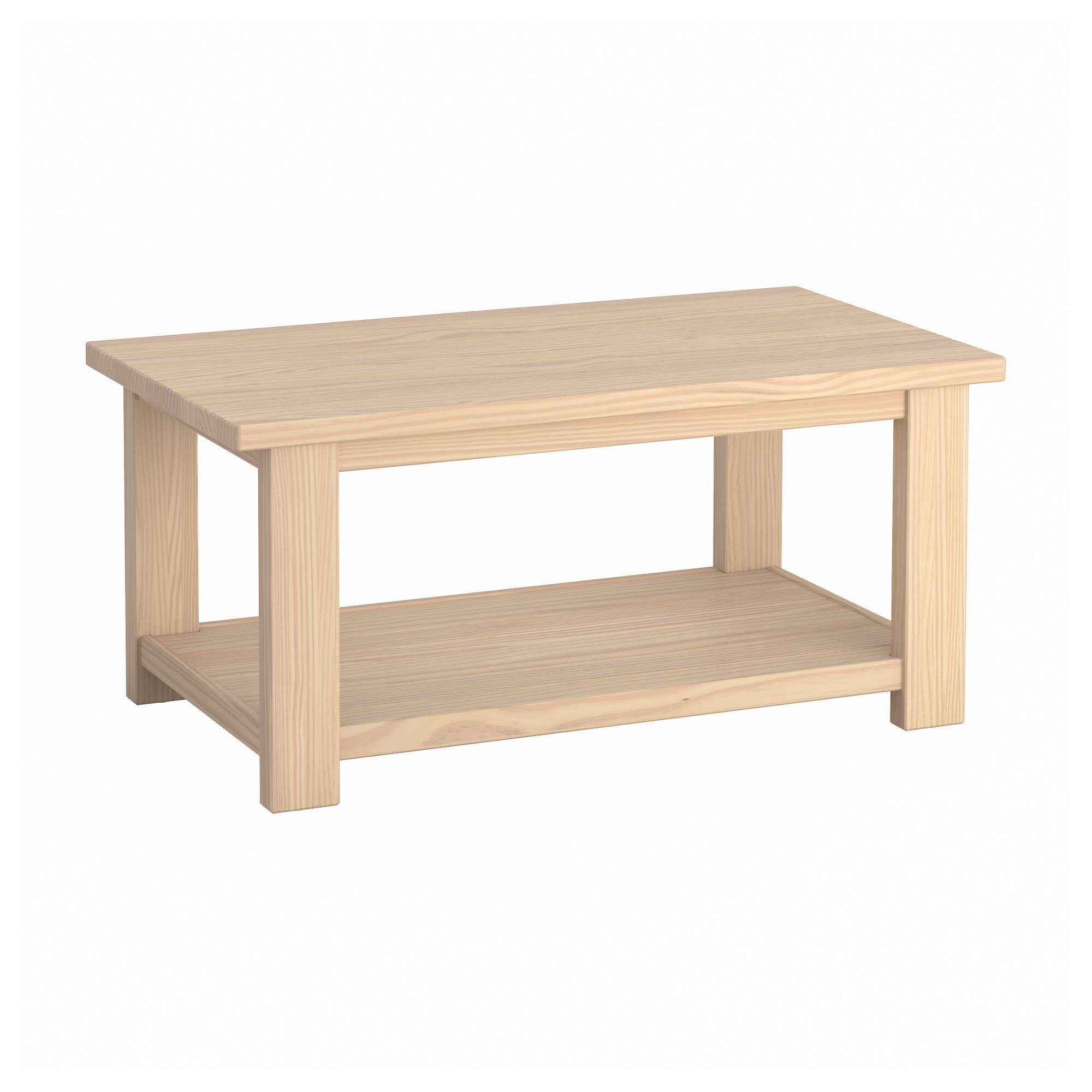 Preferred Pine Coffee Tables Regarding Rekarne Coffee Table – Ikea (View 15 of 20)