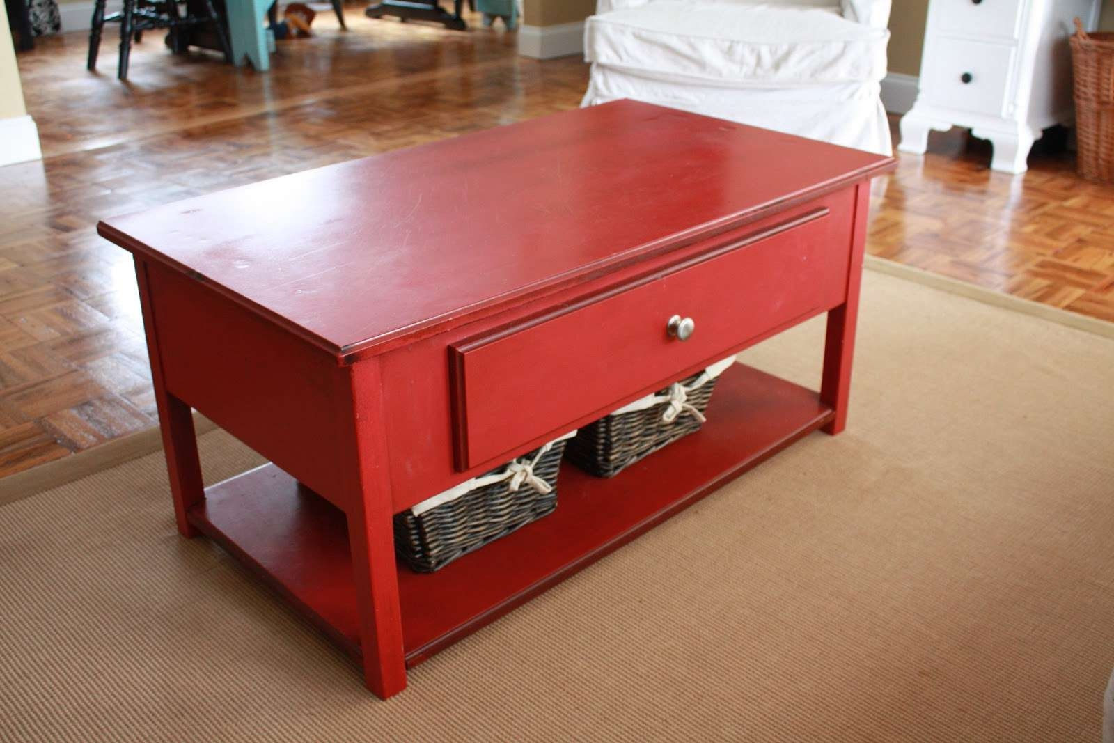 Preferred Red Coffee Tables In It's Just Laine: The Amazing Red Coffee Table (View 13 of 20)