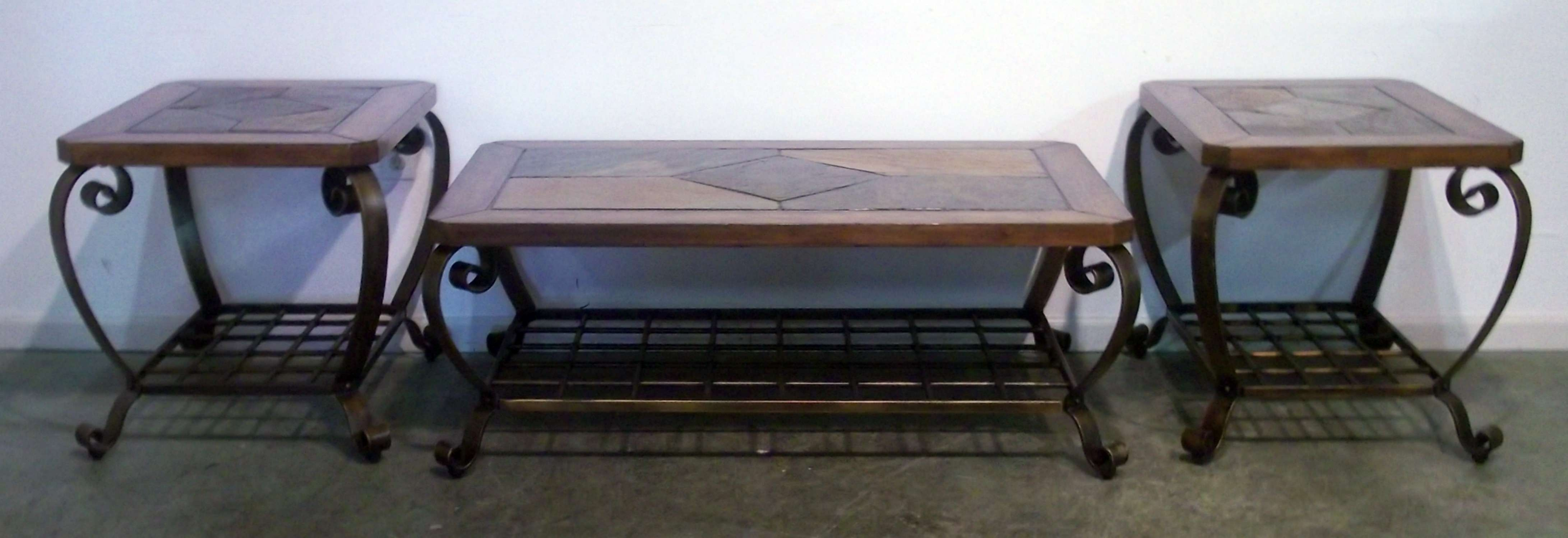 Preferred Round Slate Top Coffee Tables Within Round Slate Coffee Table – Coffeetable (View 16 of 20)