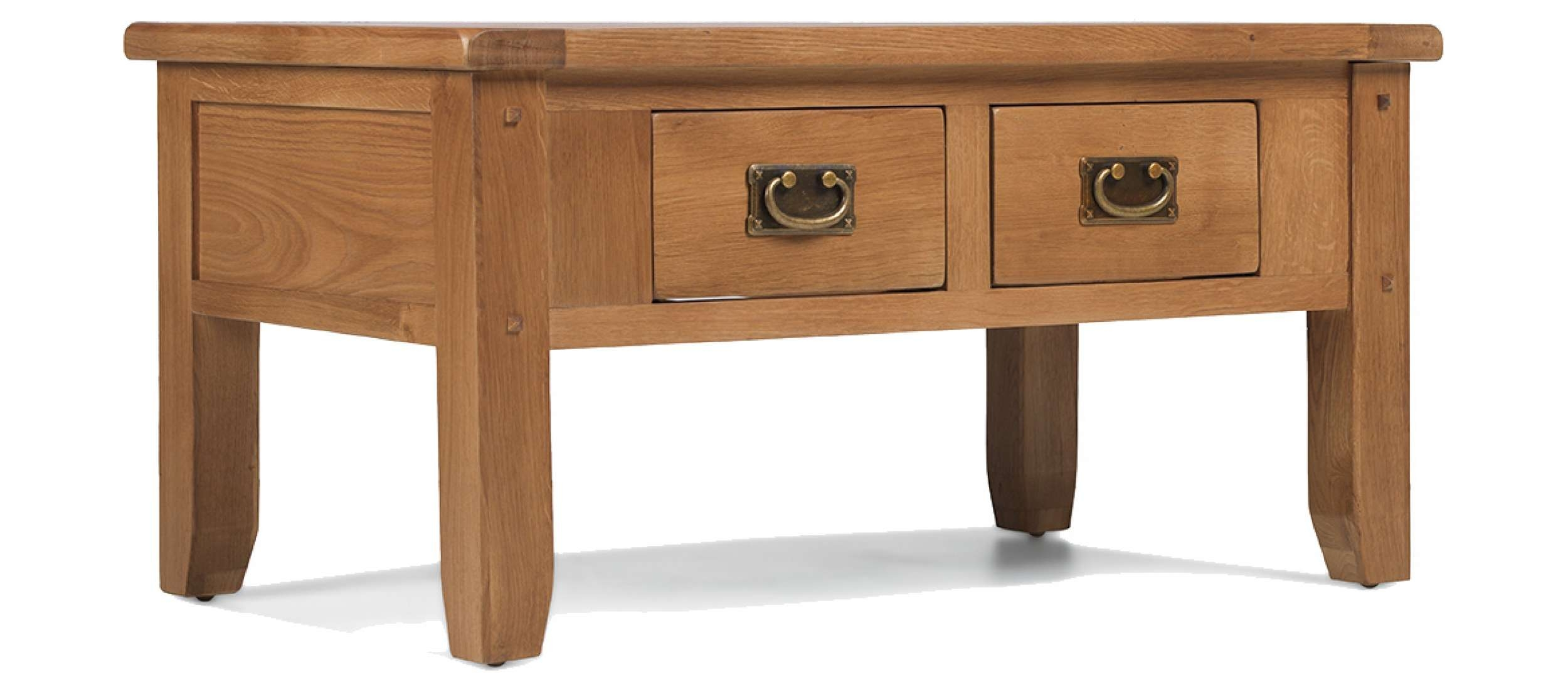 Preferred Rustic Oak Coffee Table With Drawers With Regard To Coffee Table : Magnificent Small Round Coffee Table Solid Wood (View 16 of 20)