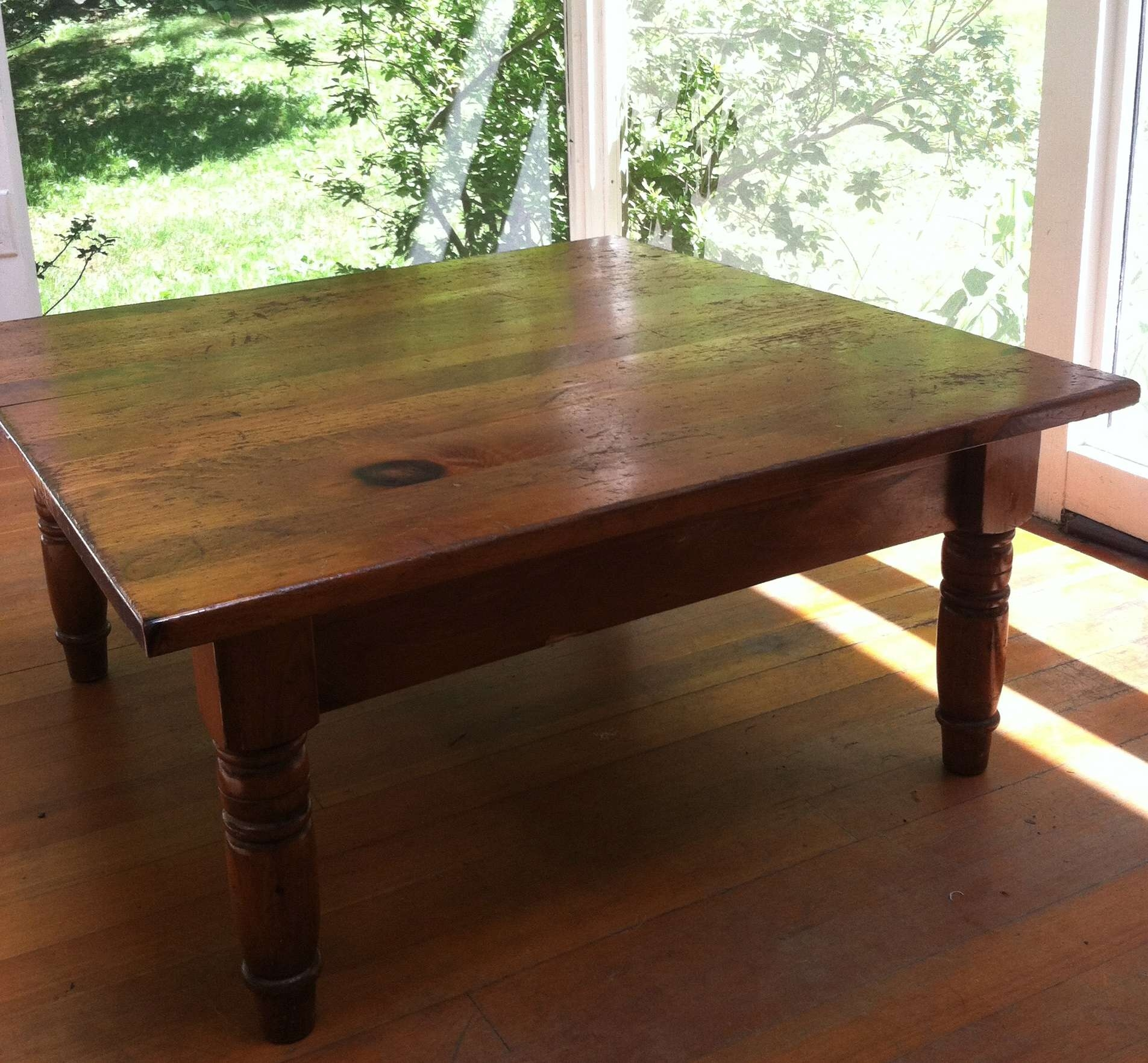 Preferred Square Pine Coffee Tables Pertaining To Furniture Archives – Patti Home (View 14 of 20)