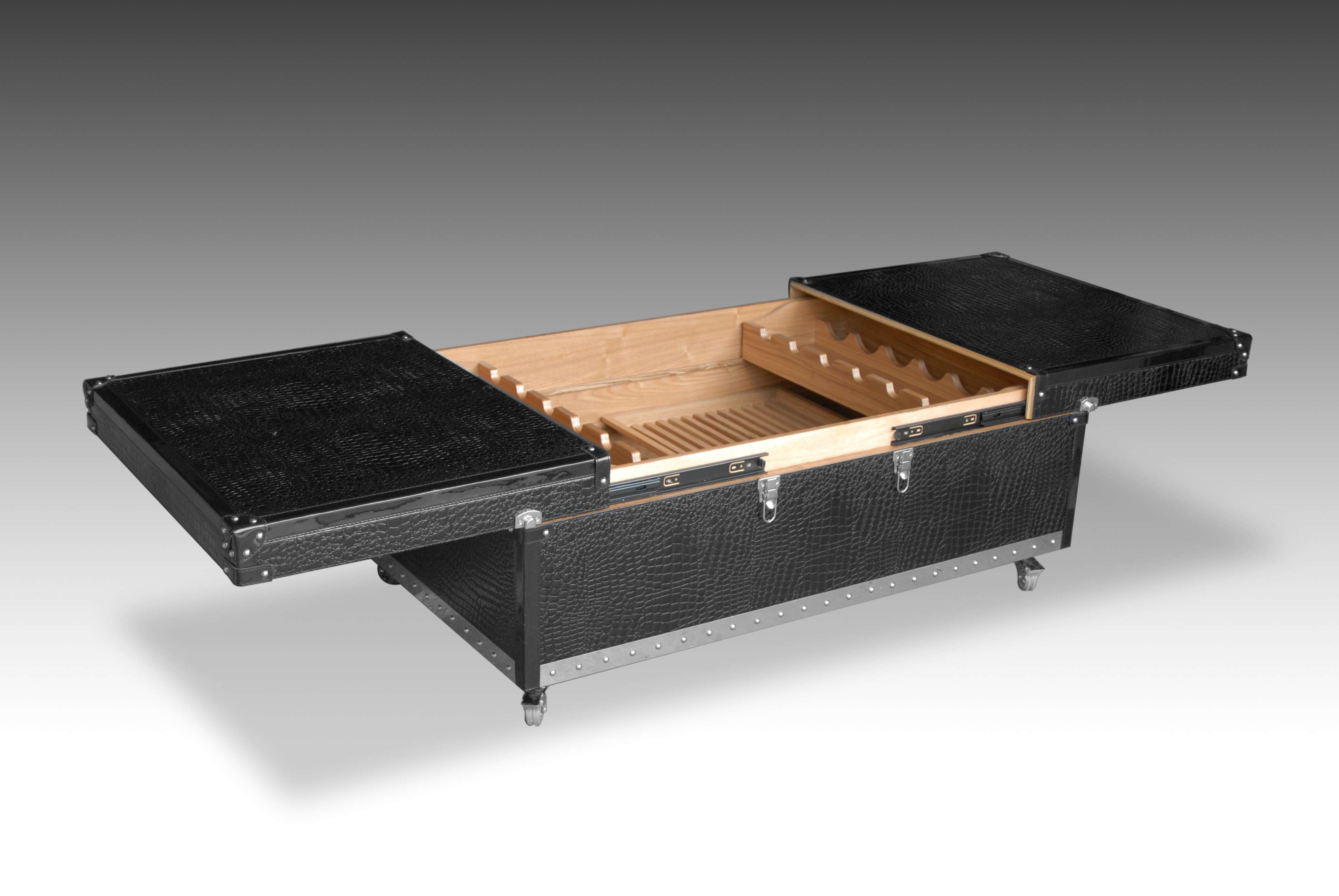 Preferred Square Wood Coffee Tables With Storage Intended For Coffee Tables : Furniture Oversized Square Coffee Table With (View 12 of 20)