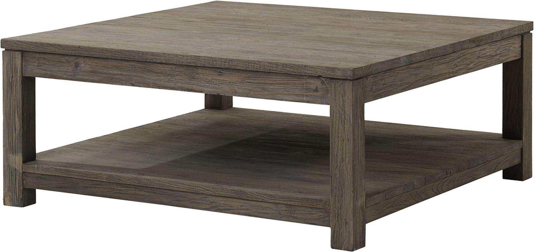 Preferred Square Wooden Coffee Table Intended For Large Square Coffee Table Increasing Interior Elegance – Ruchi Designs (View 6 of 20)