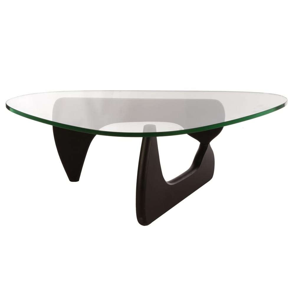 Preferred Tribeca Coffee Tables Inside Mod Made Mid Century Modern Tribeca Tempered Glass Top Coffee (View 16 of 20)