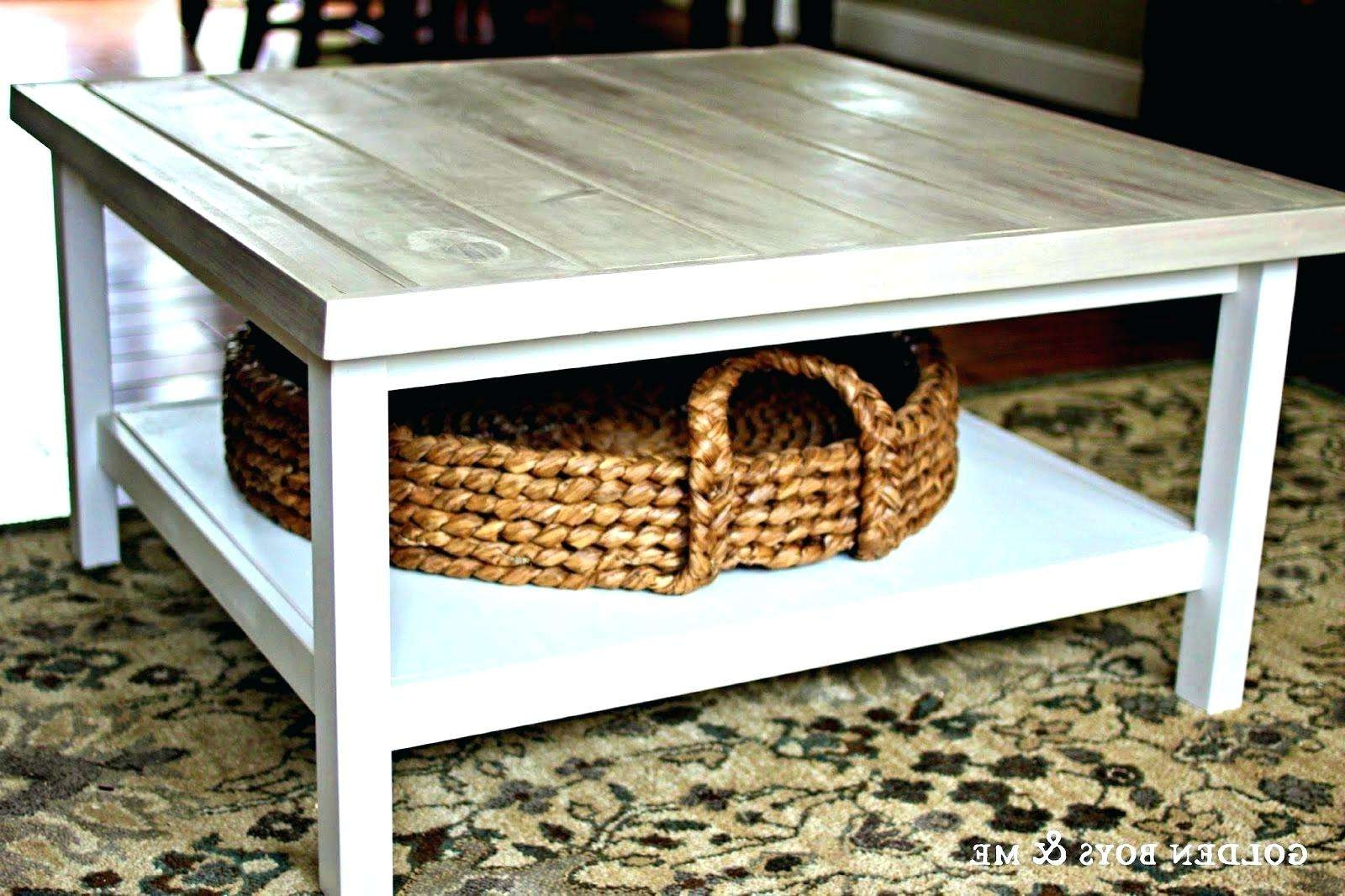 Preferred White Coffee Tables With Baskets Inside Nantucket Basket Coffee Table • Coffee Table Design (View 15 of 20)