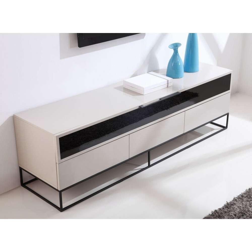 Featured Photo of Cream High Gloss Tv Cabinets