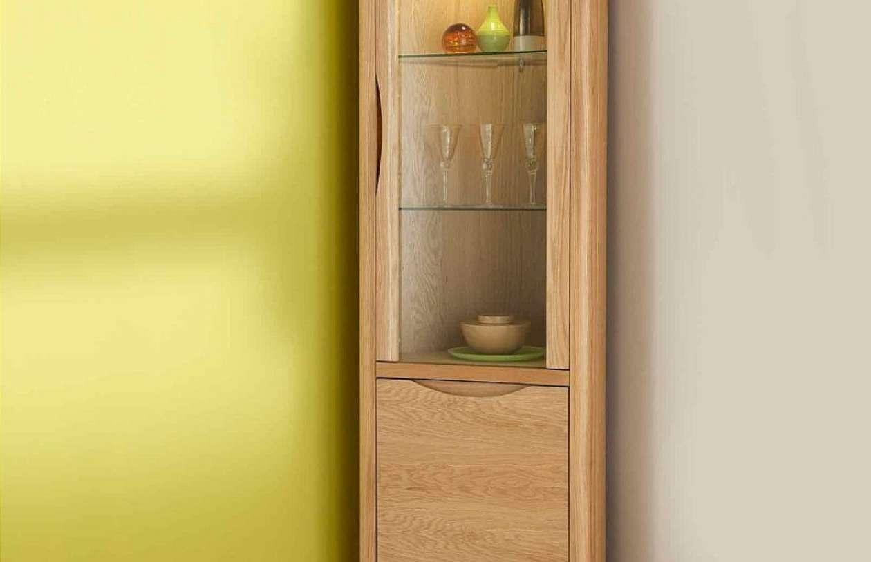 Rare Painted Wooden Sideboard Tags : Wood Sideboard Corner Regarding Corner Sideboards (View 7 of 20)