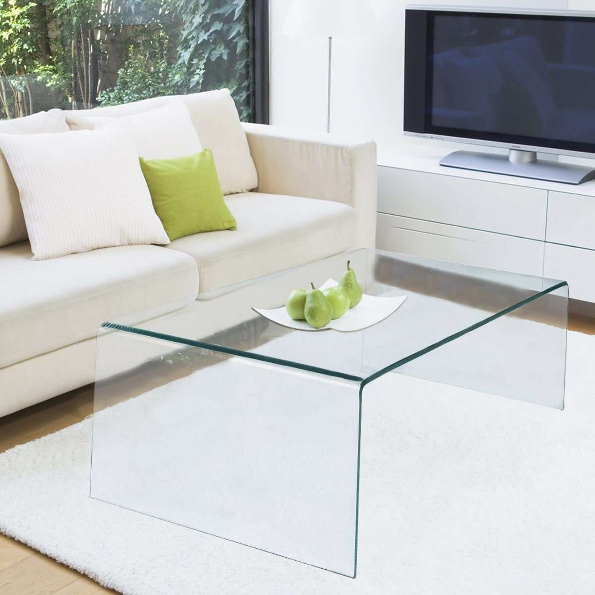 Recent All Glass Coffee Tables Intended For The Best Glass Coffee Tables Under $ (View 2 of 20)