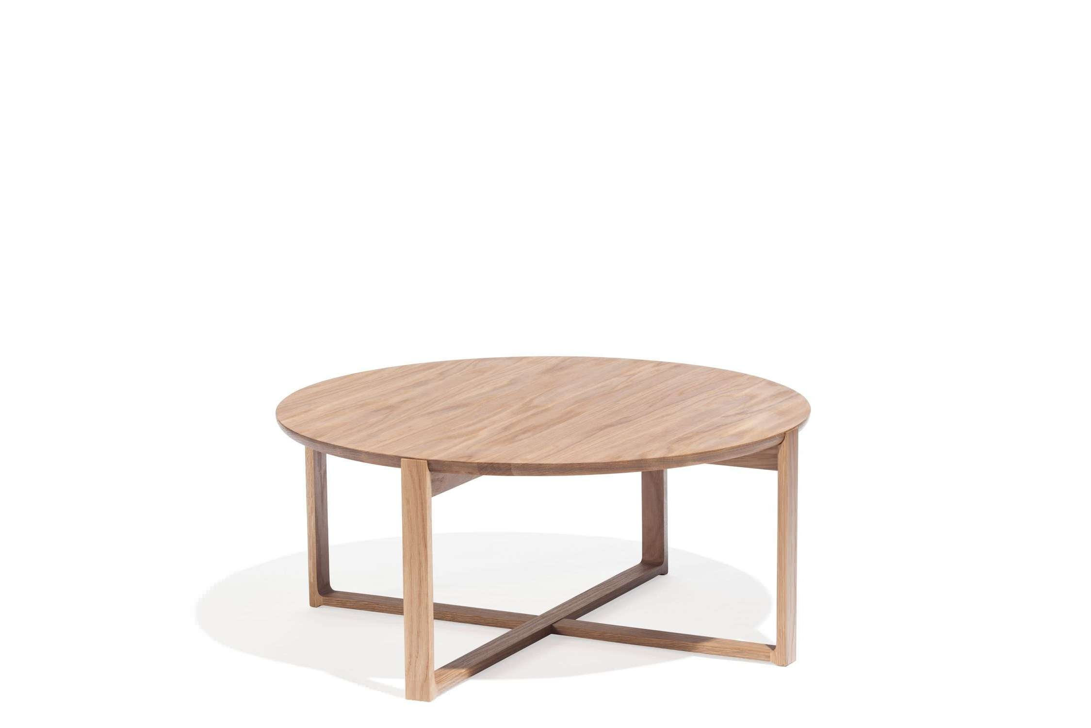Recent Beech Coffee Tables Intended For Contemporary Coffee Table / Oak / Beech / Round – Delta 723kai (View 5 of 20)