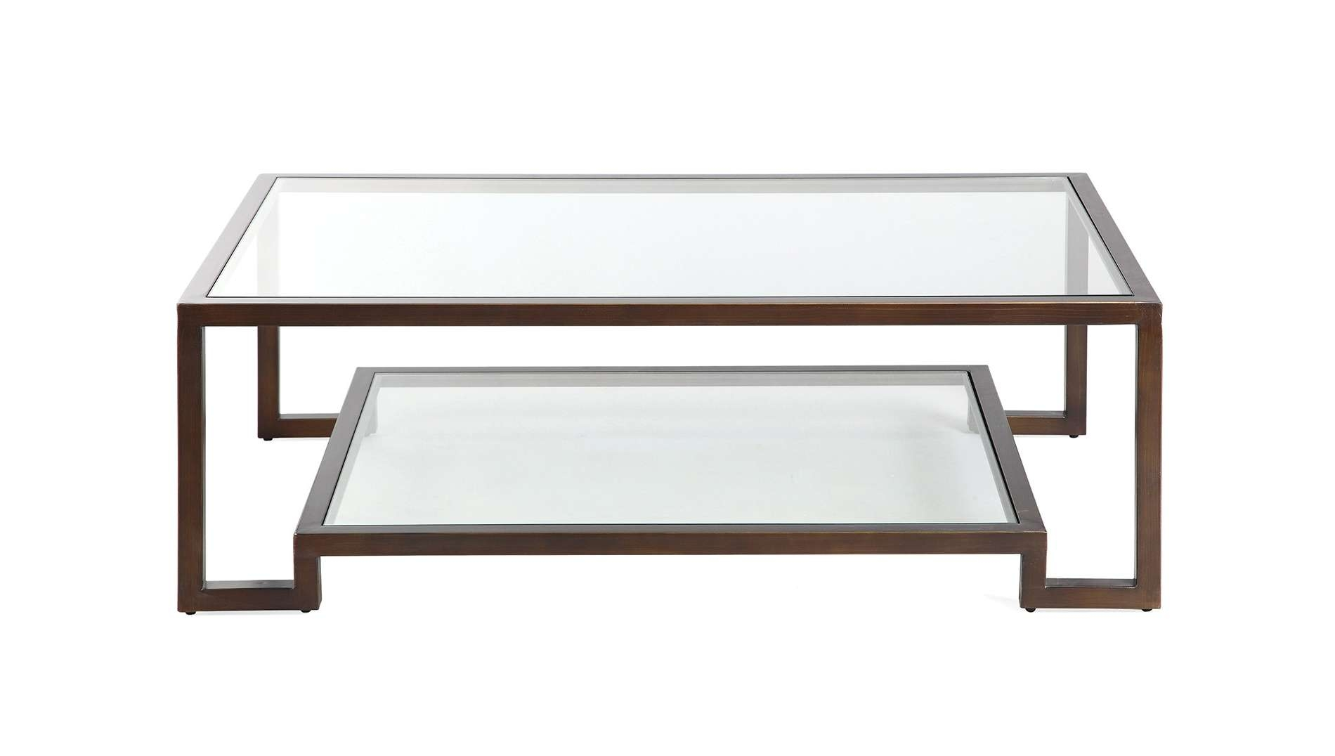 Recent Bronze And Glass Coffee Tables Inside Ming Coffee Table – Luxdeco (View 7 of 20)